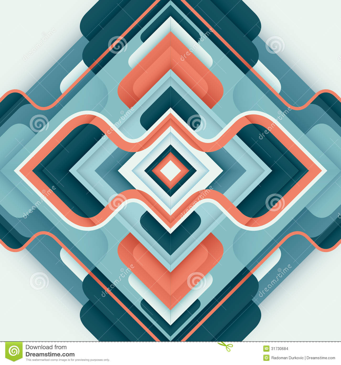 Modern abstract graphic.