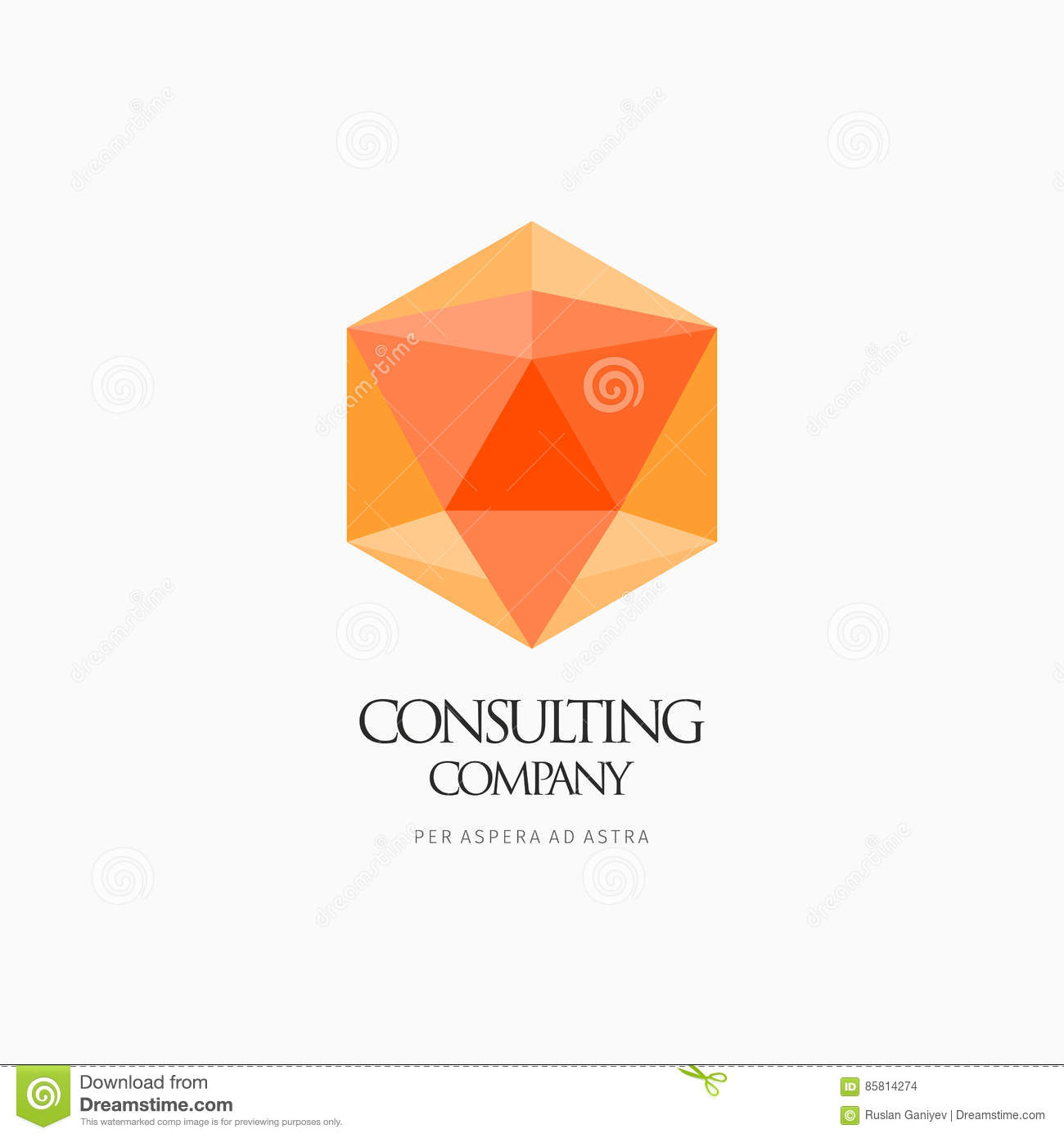 Modern Abstract Vector Logo Or Element Design  Best For Identity And