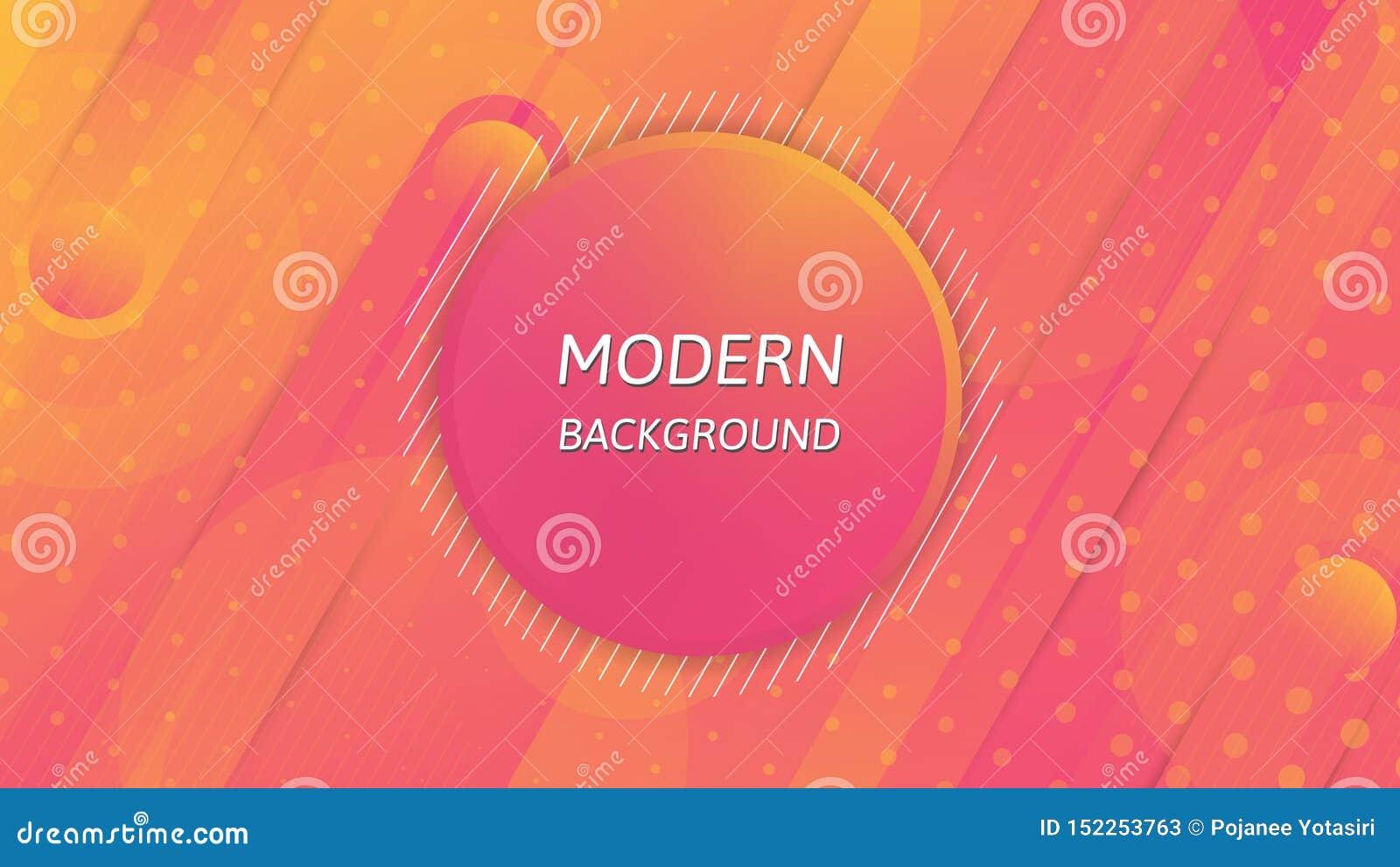 Modern abstrakt bakgrund, färgglad tapetdesign