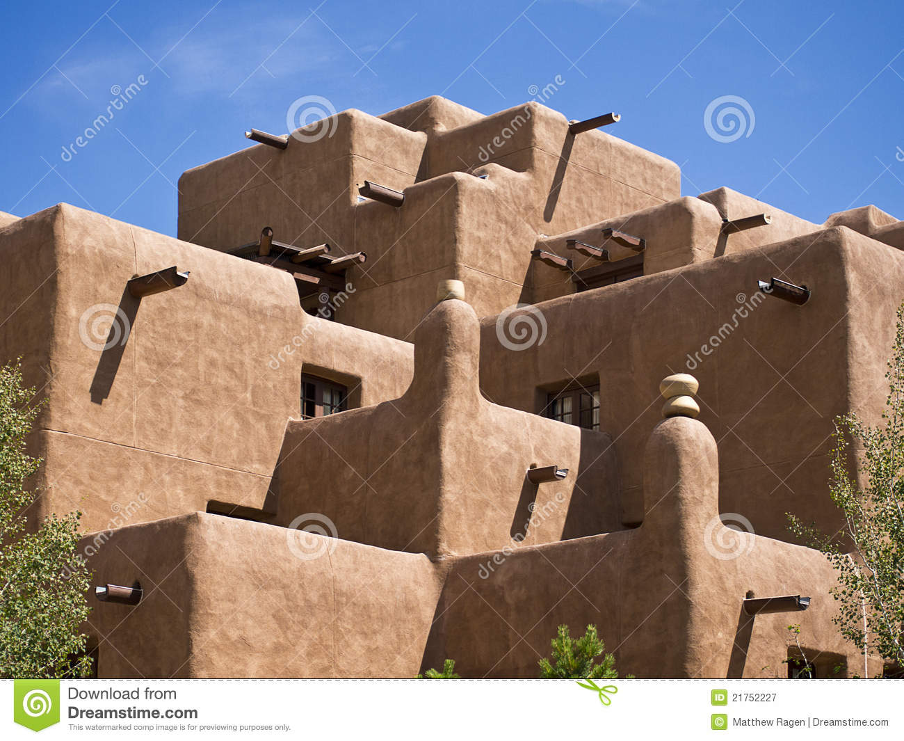 Modern Adobe Building Stock Image Image Of Architectural