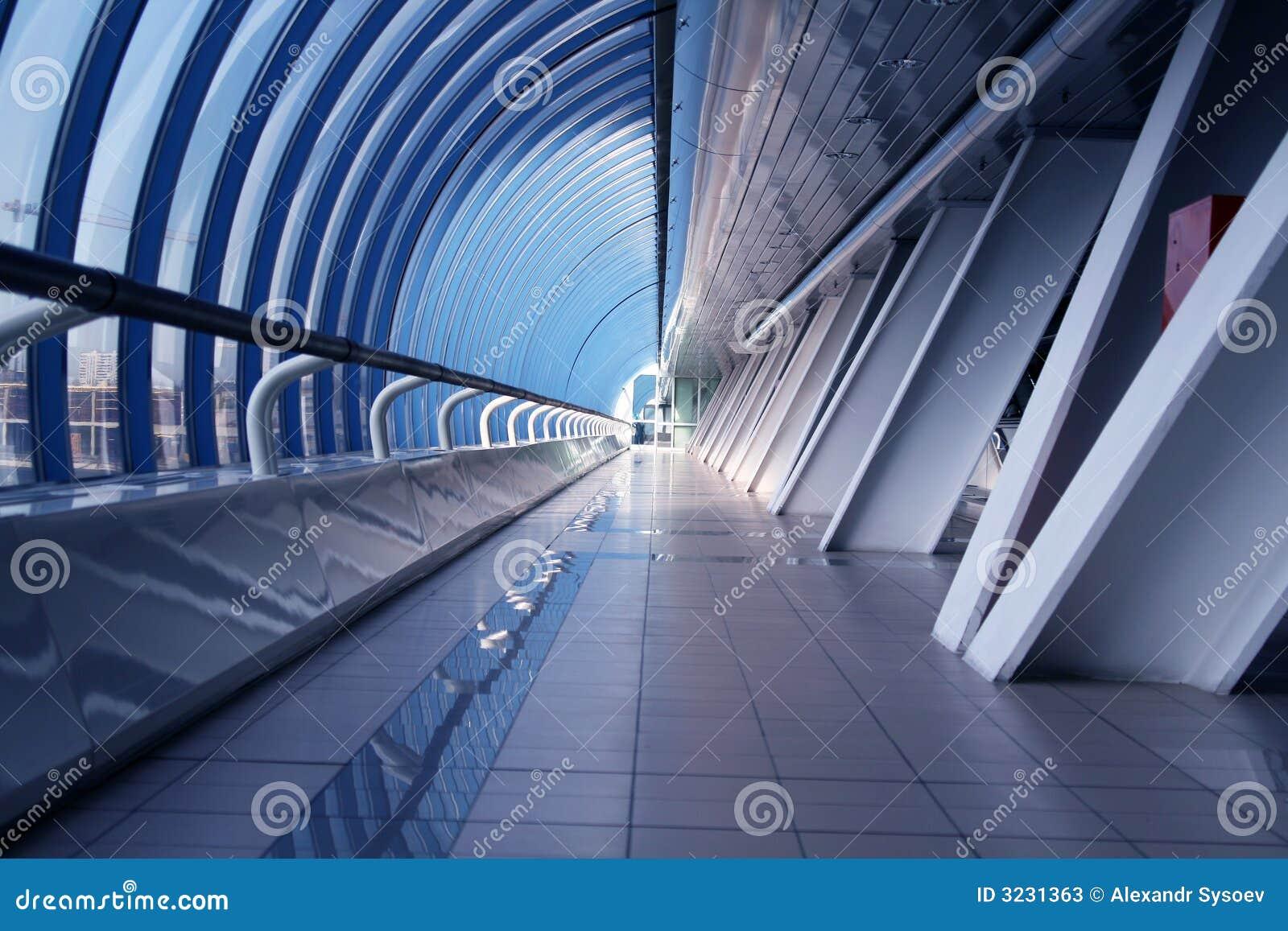 Modern affärskorridor