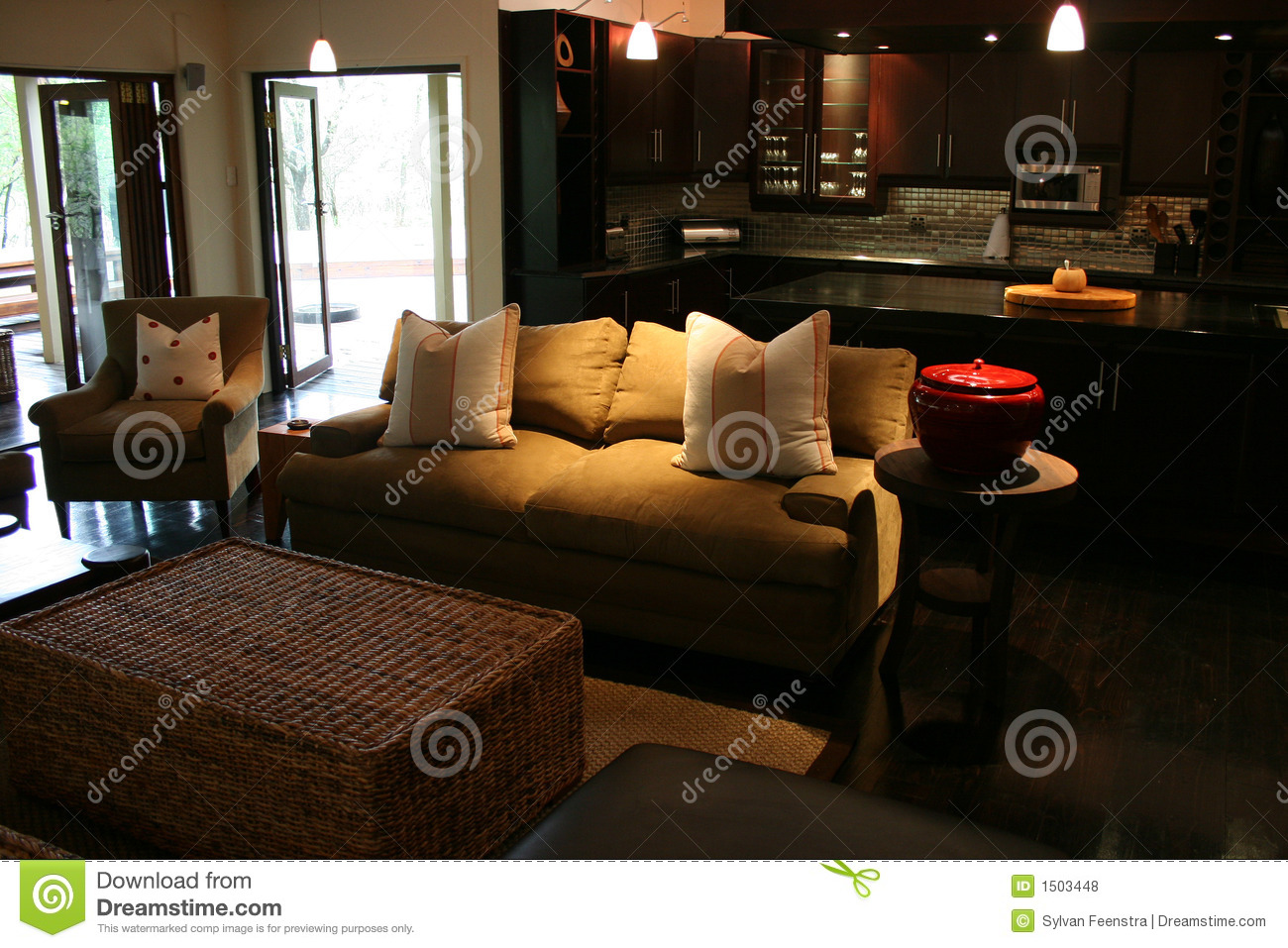 Modern African Interior Stock Photo Image Of Table
