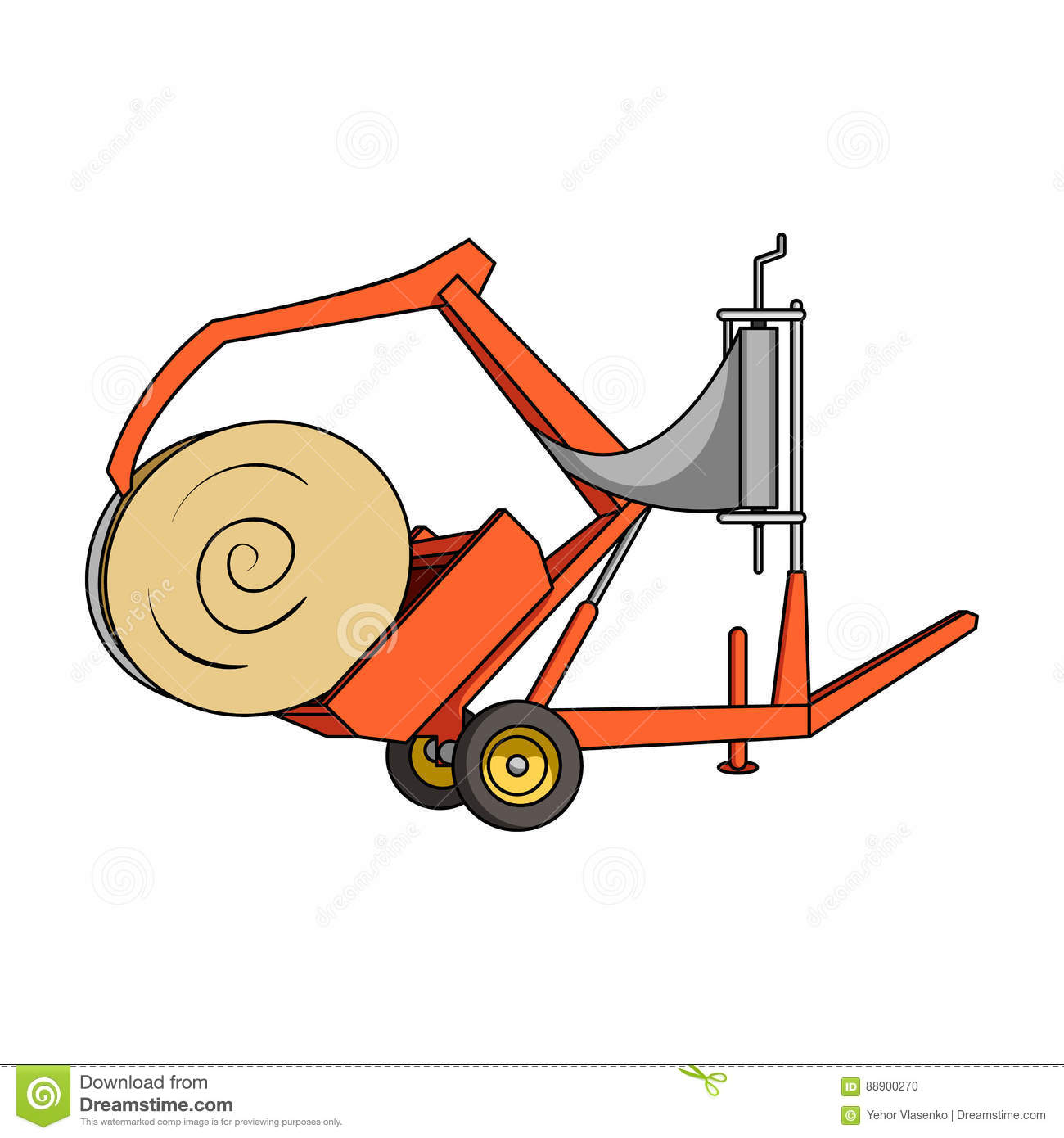 Haying Cartoons, Illustrations & Vector Stock Images - 43 ...