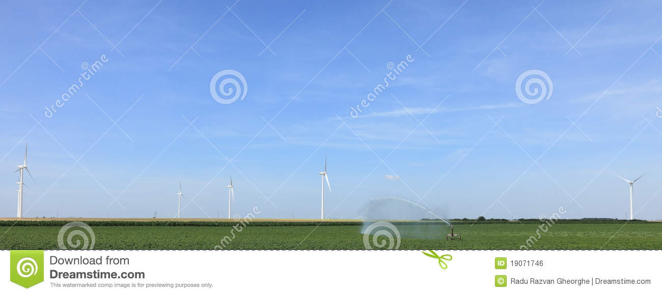 Modern Agriculture Royalty Free Stock Image - Image: 19071746