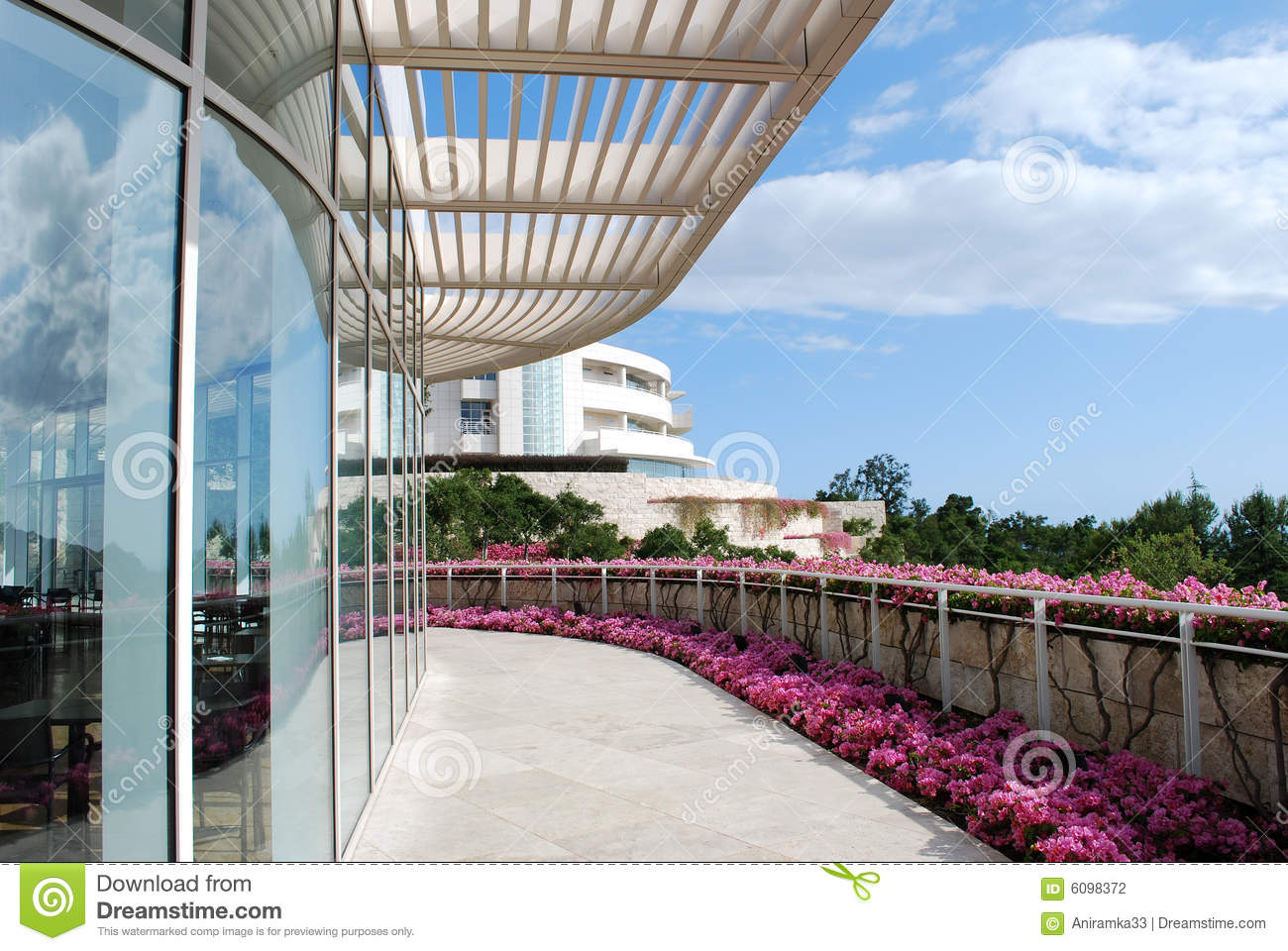 Modern American Architecture Stock Photography Image