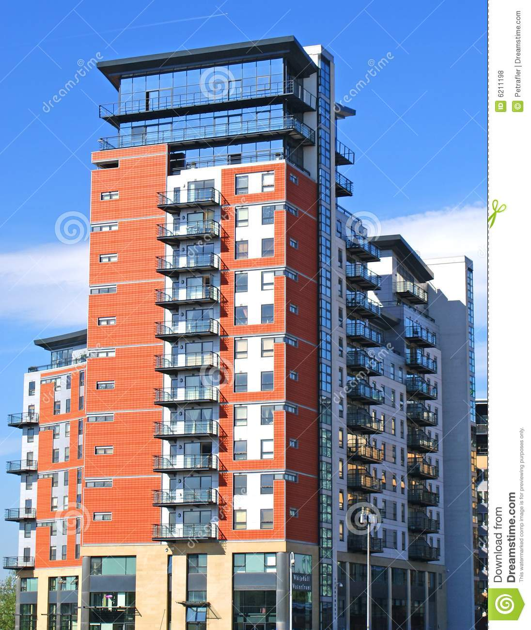 Modern Apartment Block Royalty Free Stock Photos Image 6211198
