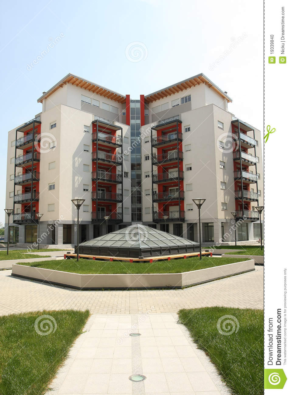 modern apartment building stock photo image of architectural 19339840