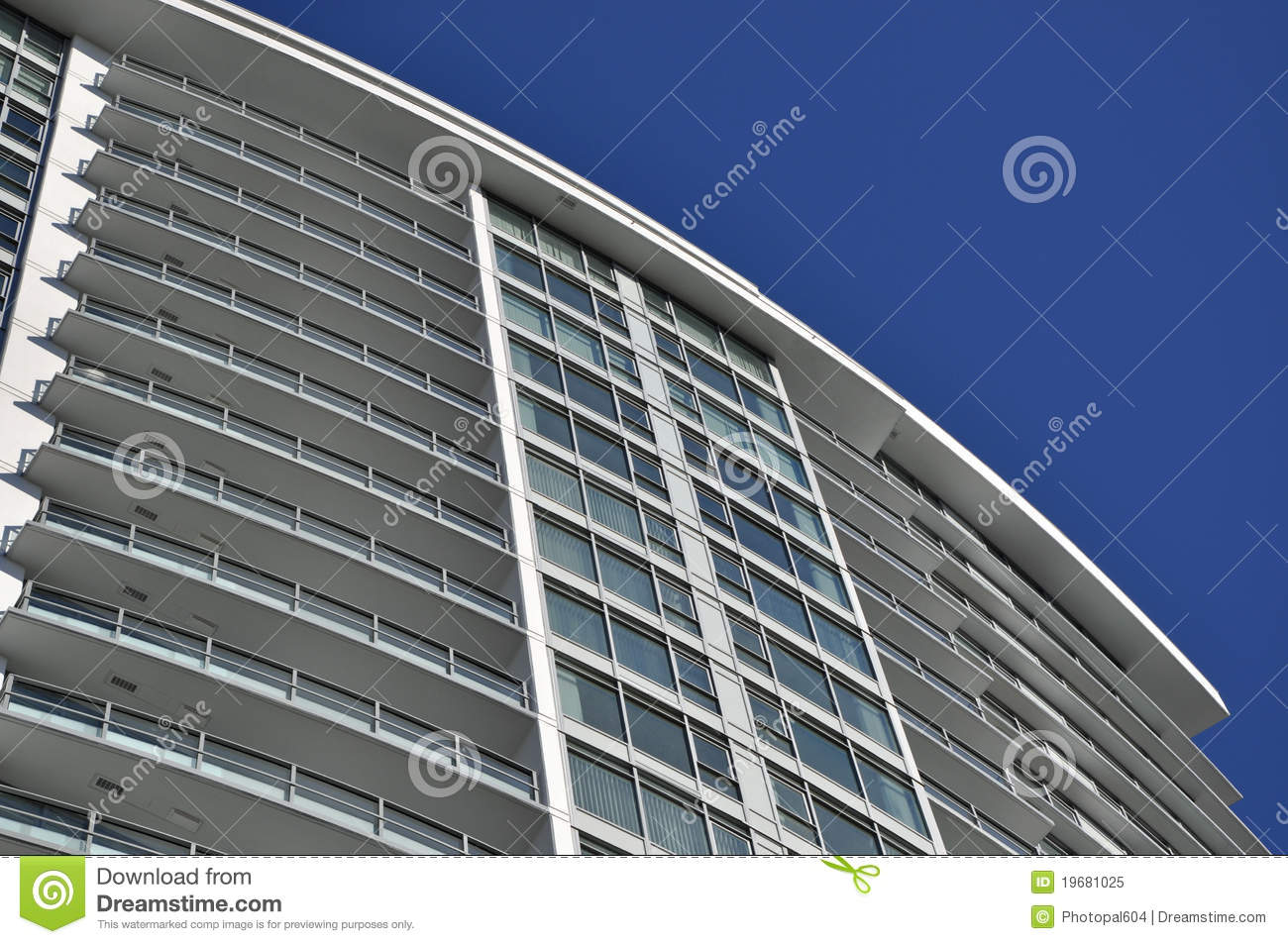 modern apartment building royalty free stock photo image