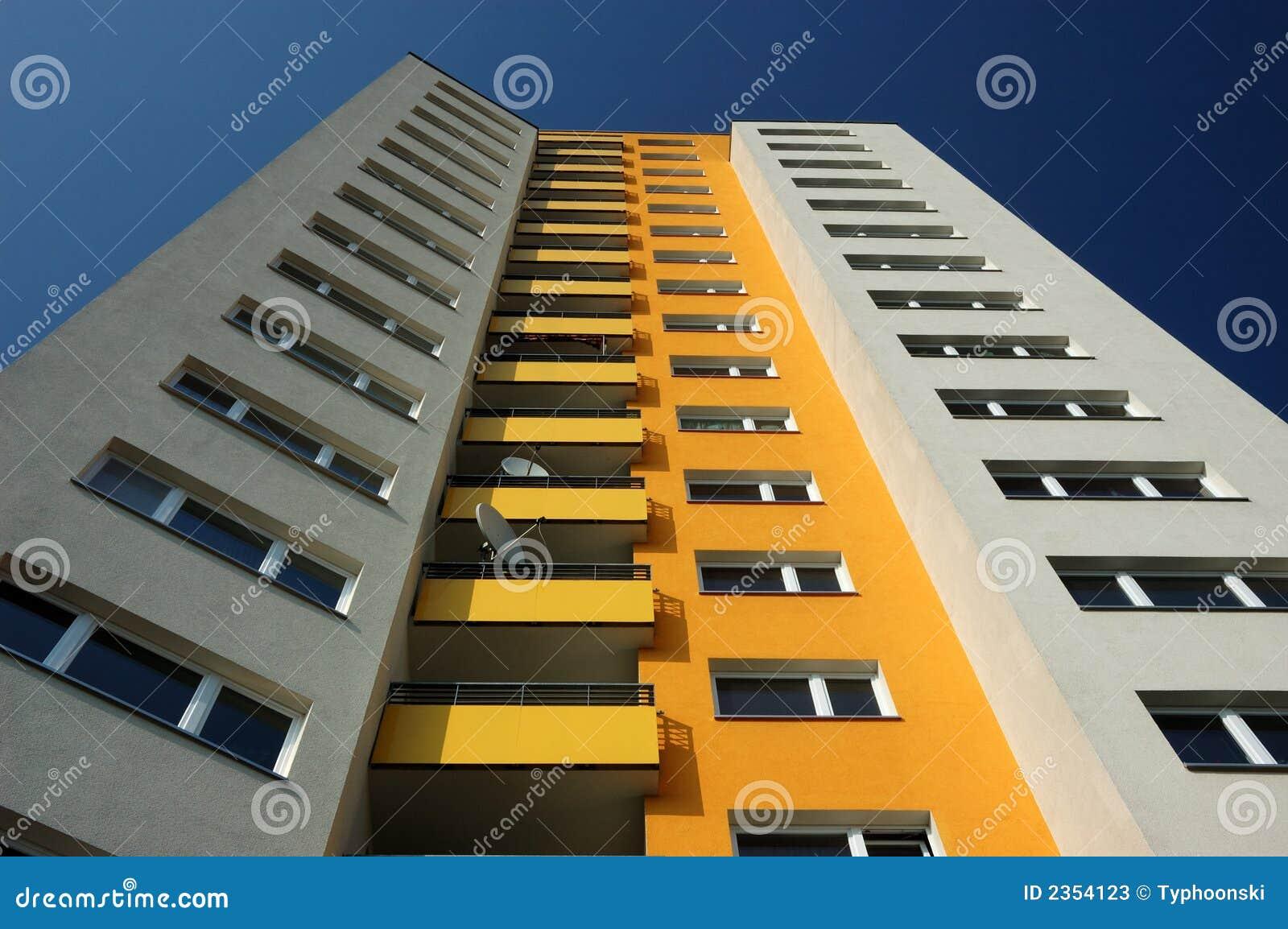 Modern Apartment Build... Apartment Building Design In 3d
