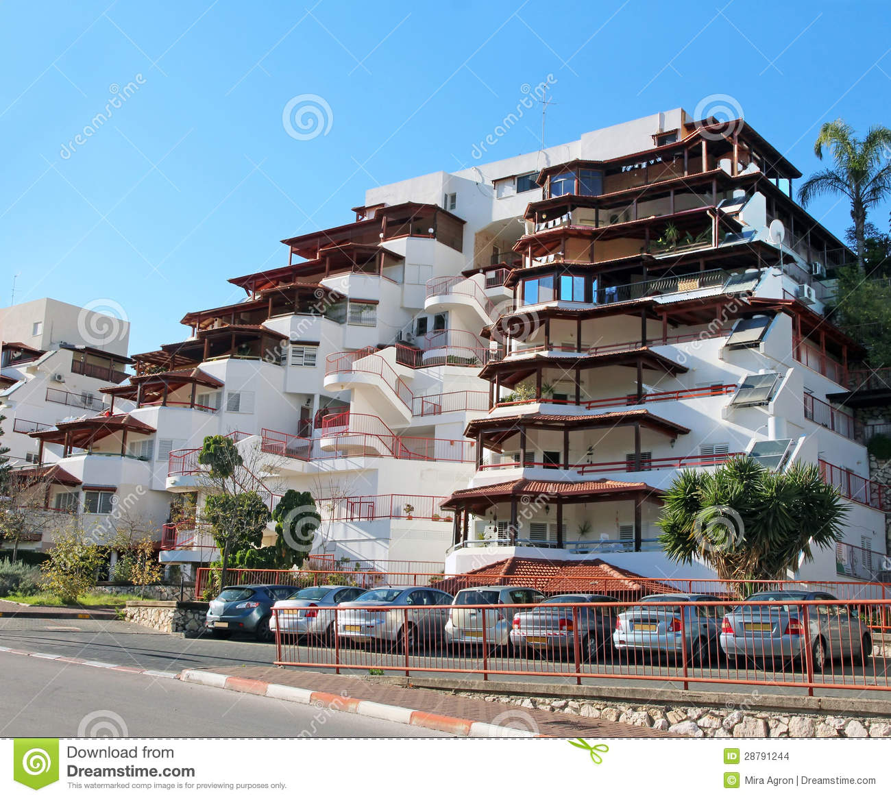 Modern Apartment Building modern apartment building stock images - image: 28791244