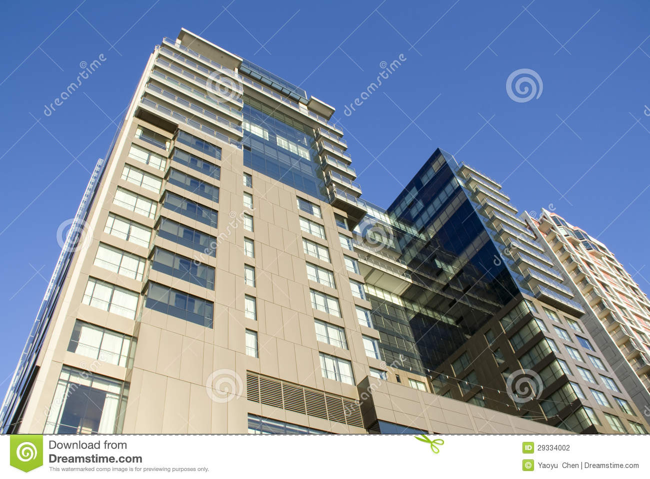 Modern Apartment Building Stock Photography Image 29334002