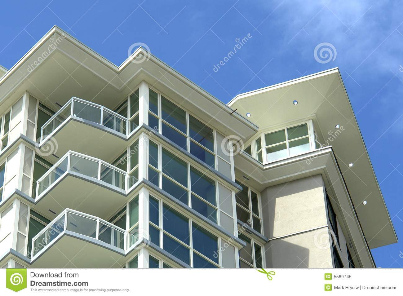 Modern Apartment Building Royalty Free Stock Photo Image 5569745