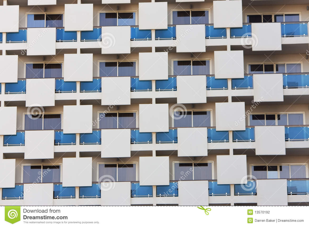 Modern Architecture Pattern modern apartment building architectural pattern stock photography