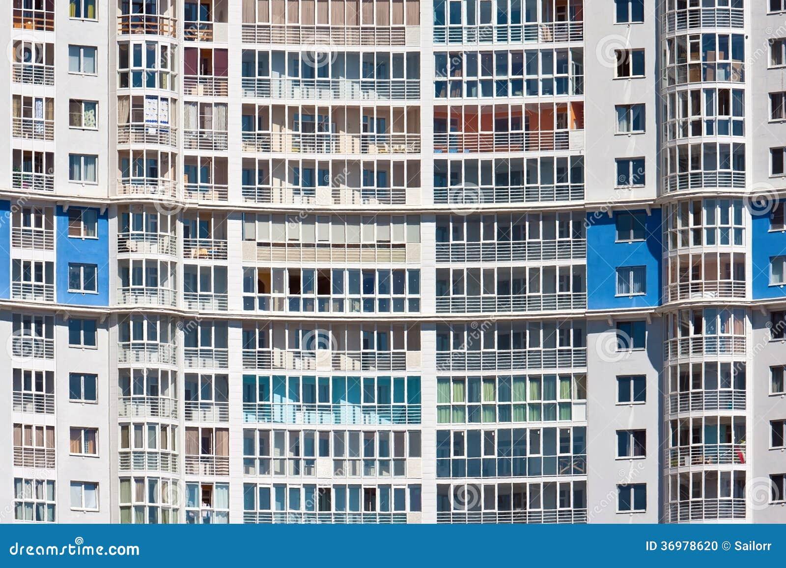 Modern Apartment Building Stock Photo Image 36978620