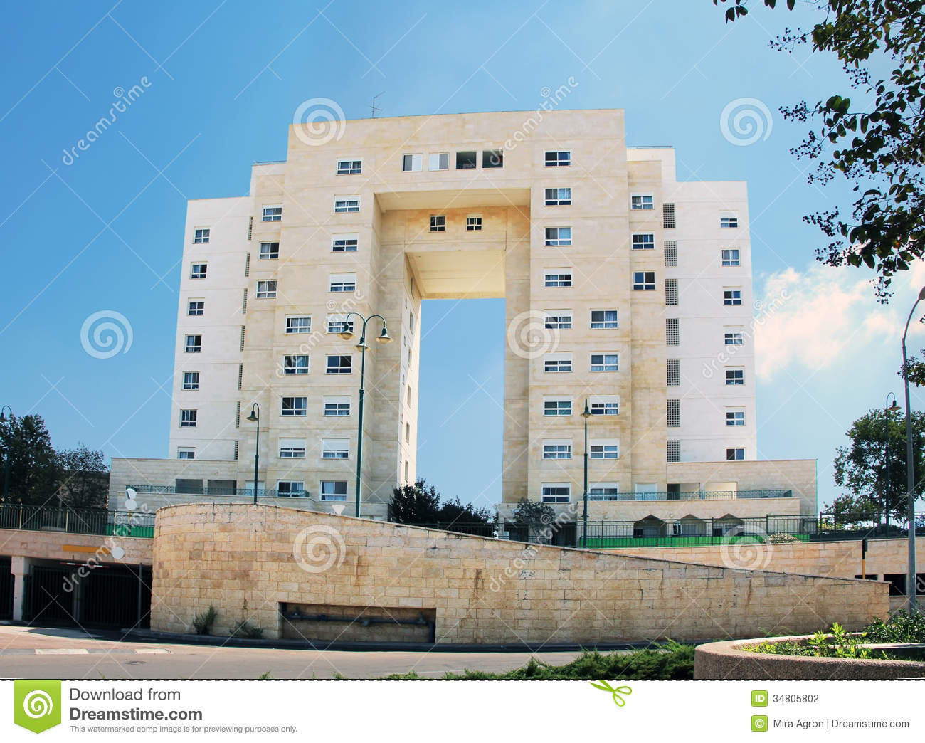 Modern Apartment Building Stock Photography Image 34805802