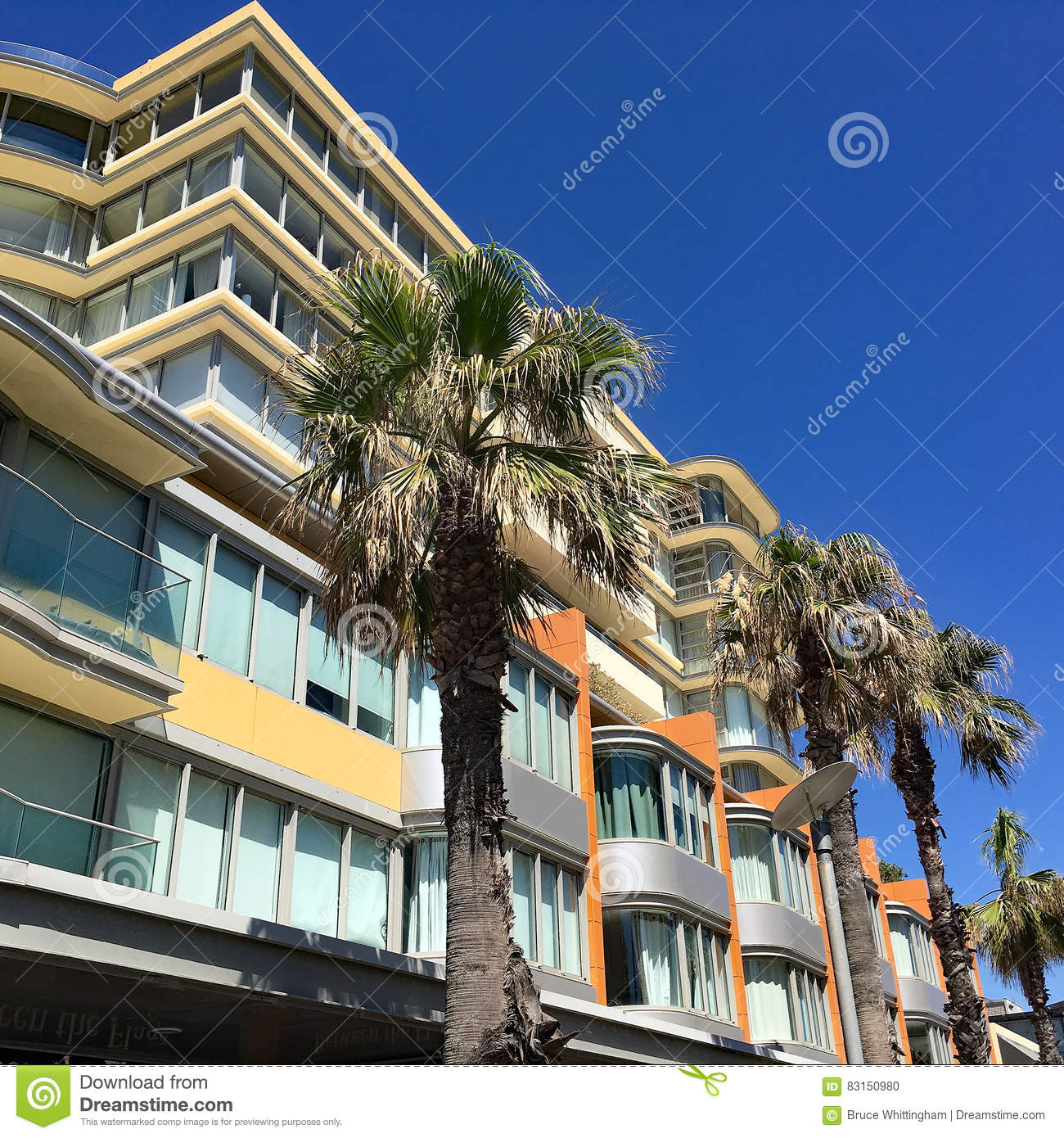 Modern Apartment Building Stock Photo. Image Of Apartment