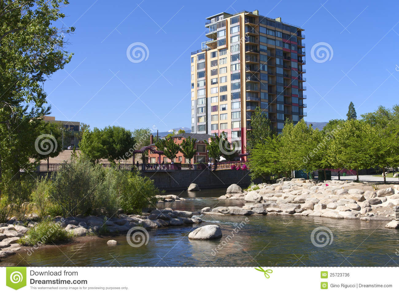Modern apartment building reno nv royalty free stock for Element apartments reno