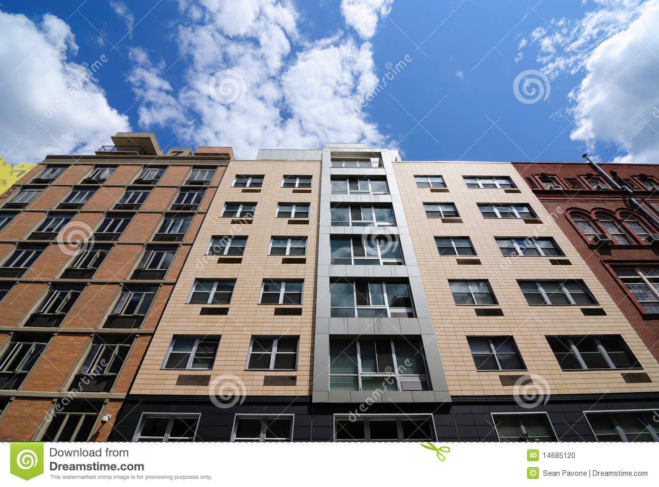 Modern Apartment Buildings Stock Photo Image 14685120