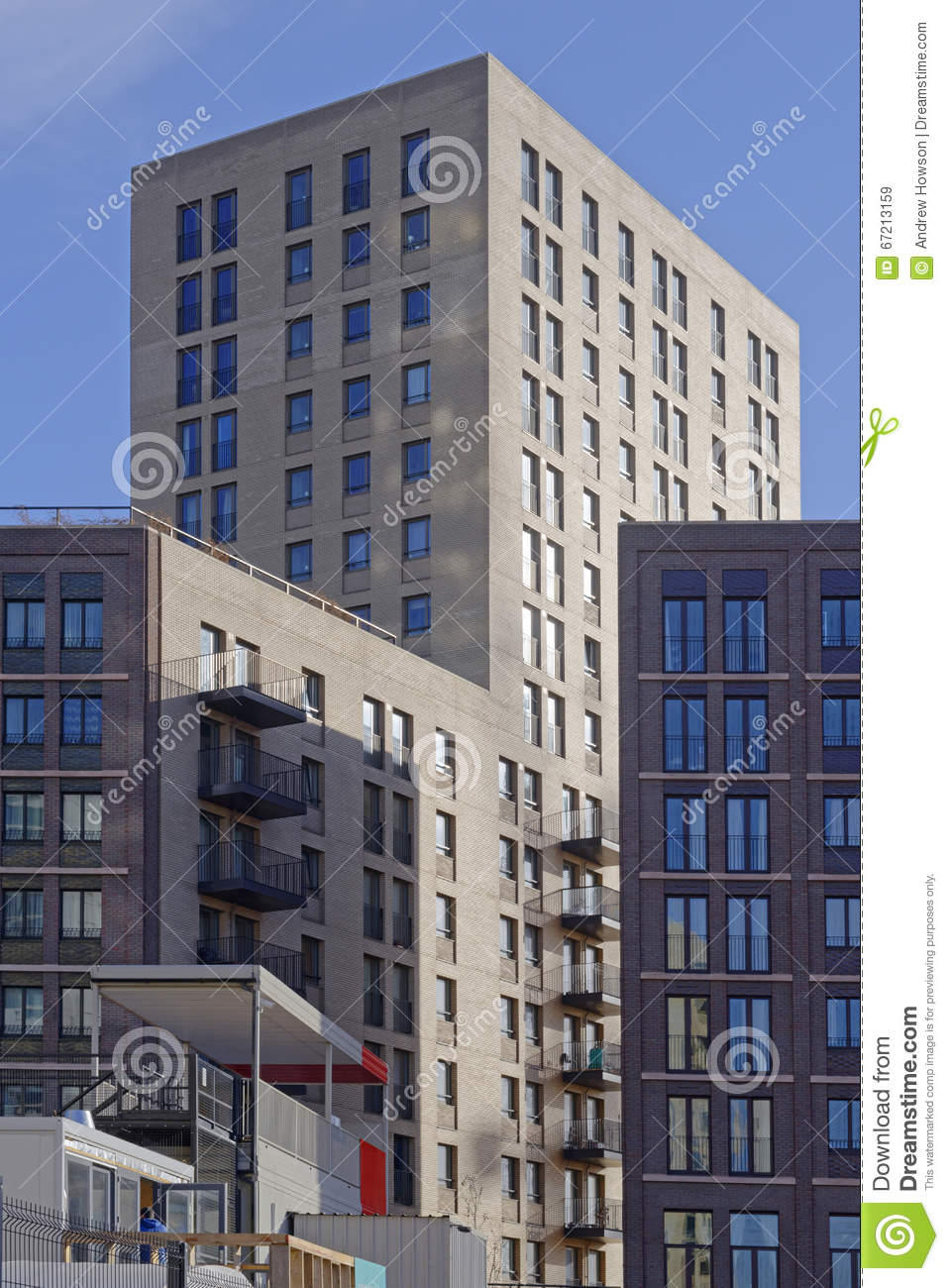 Modern Apartment Buildings Editorial Stock Image Image 67213159