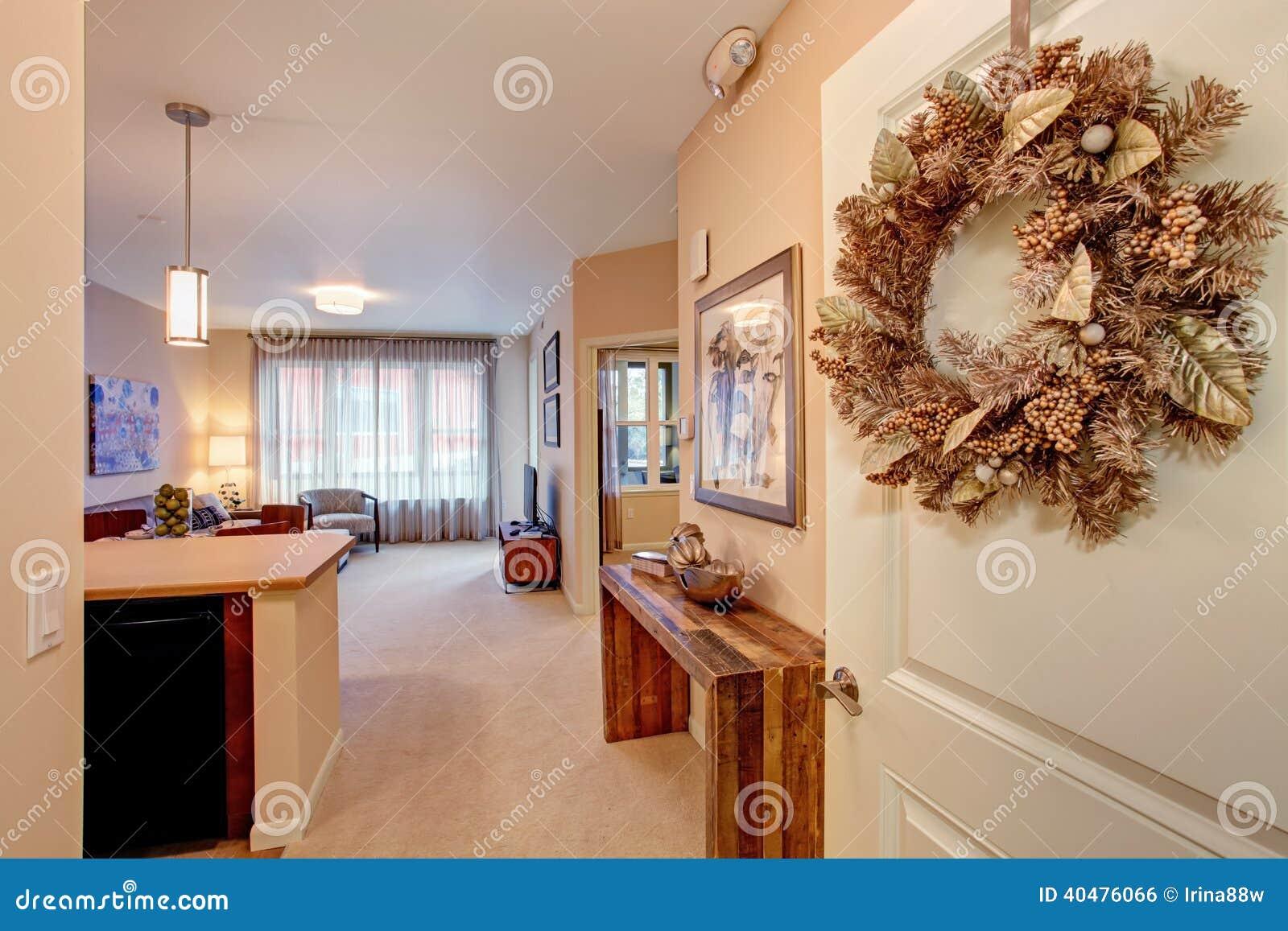 Modern Apartment Interior. Open Floor Plan Stock Photo - Image ...
