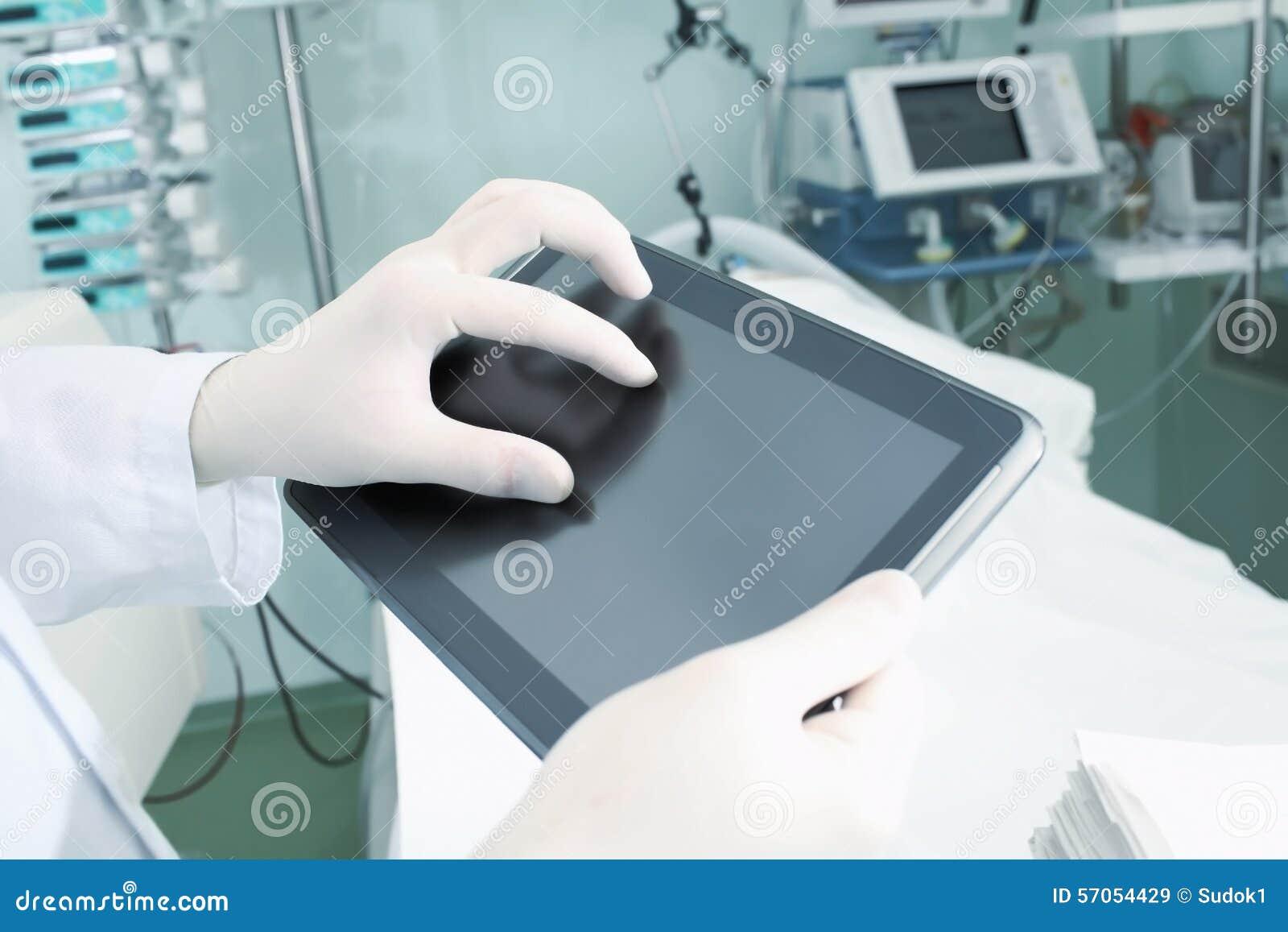 Modern apparaat in het ziekenhuis