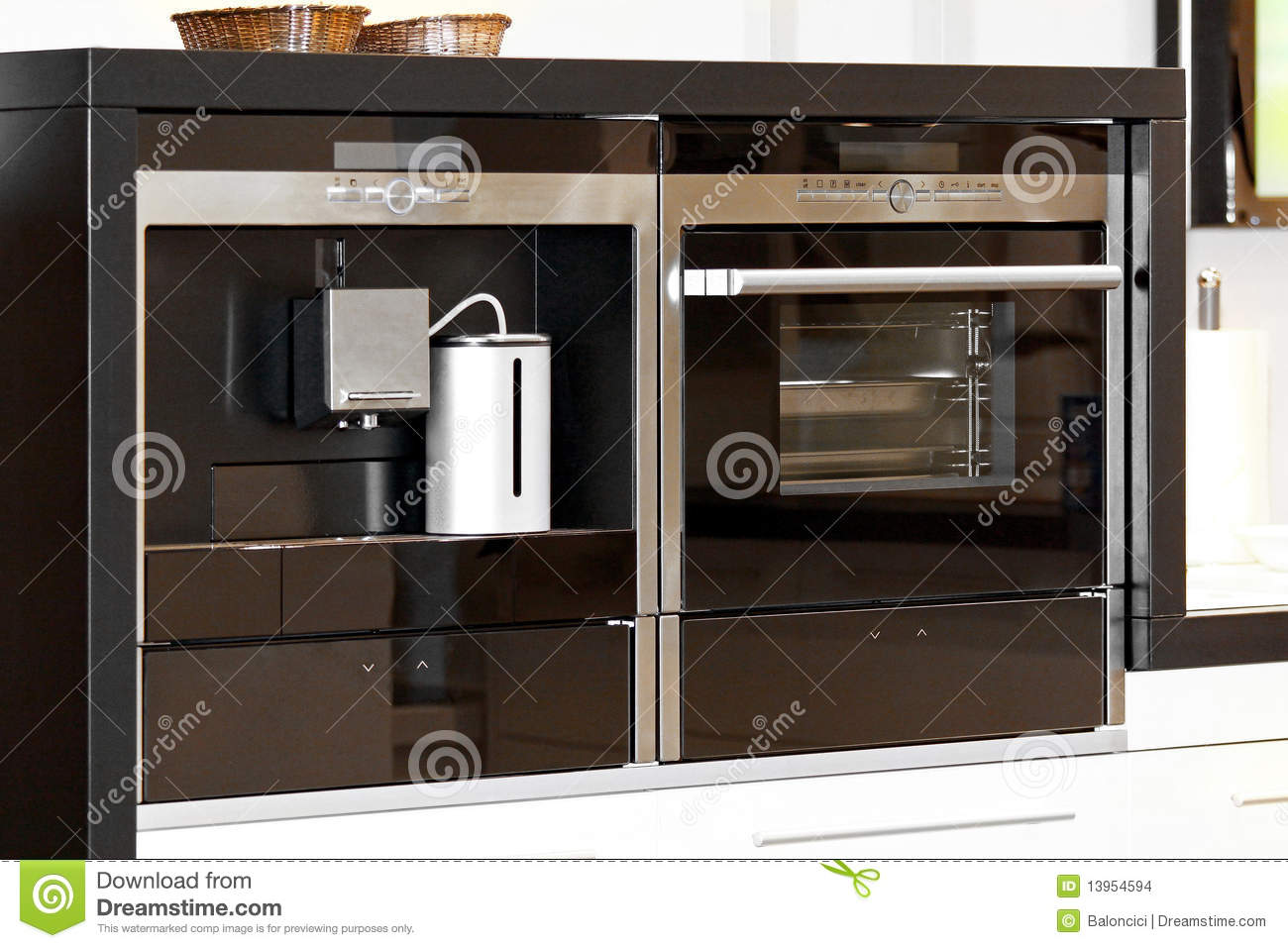 Modern Appliances Stock Photo Image Of Microwave Home
