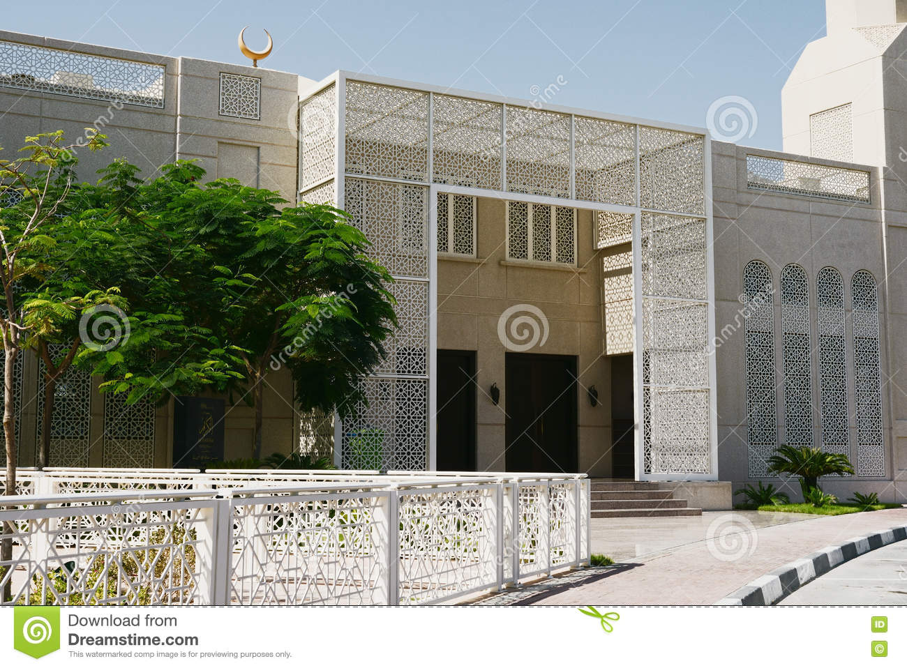 Modern islamic architecture concept the for Architecture arabe