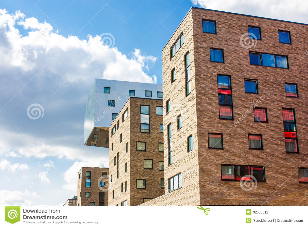 Modern architecture in berlin germany stock photography for Moderne hotels deutschland