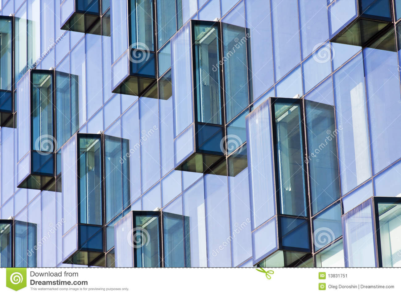 Modern Architectural Details Stock Image Image 13831751
