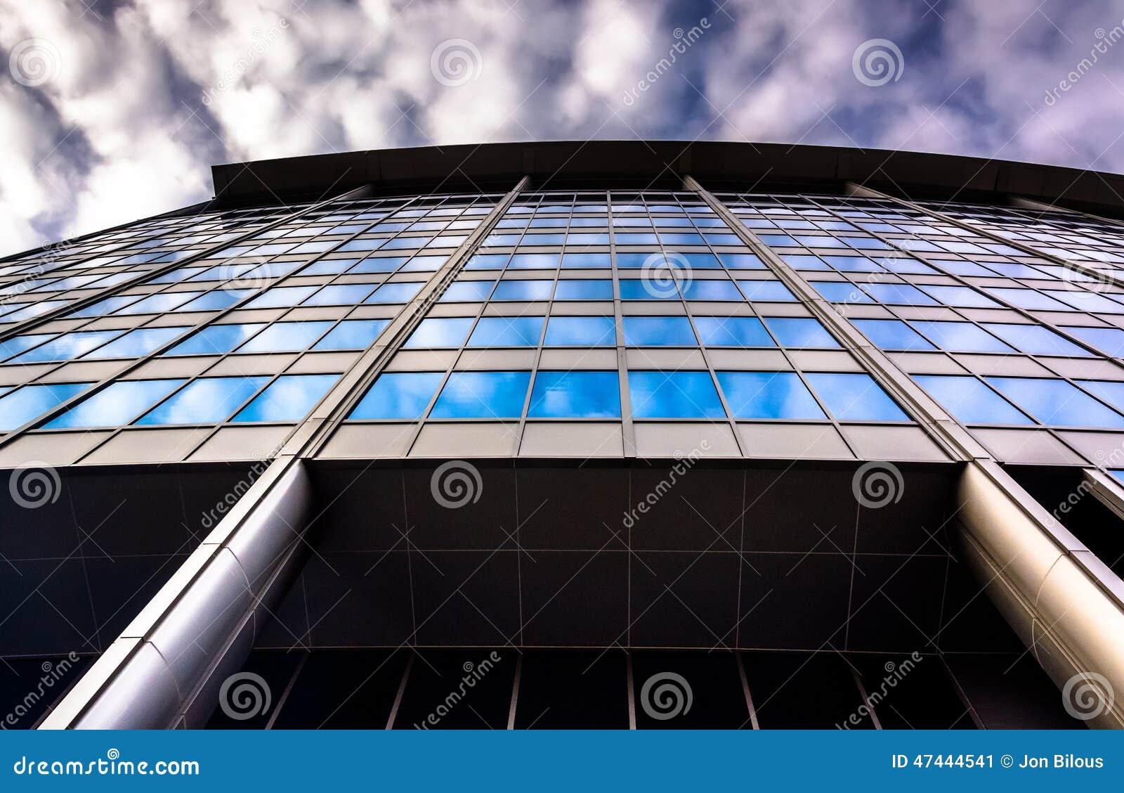 Modern Architectural Details At 500 East Pratt Street In