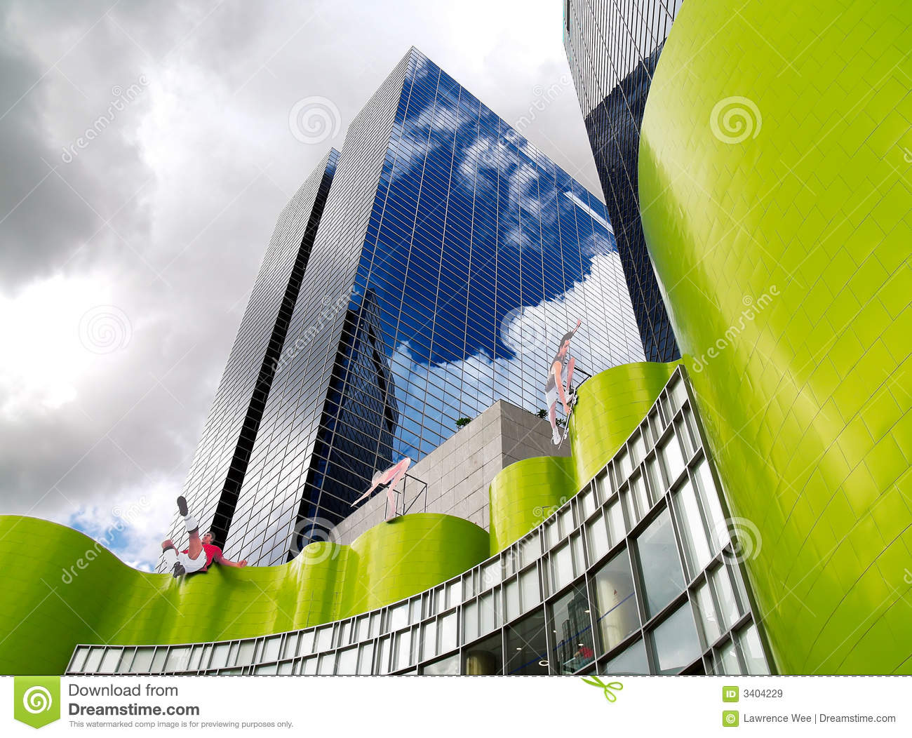 Exellent Modern Architectural Forms Royalty Free And Decor