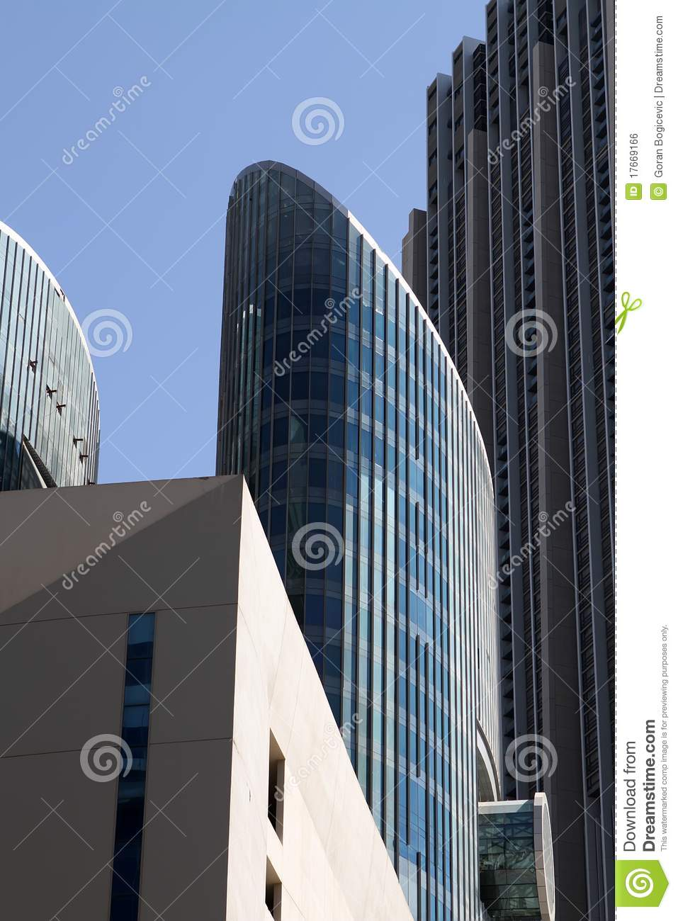 Modern architecture royalty free stock image image 17669166 for Dubai architecture moderne