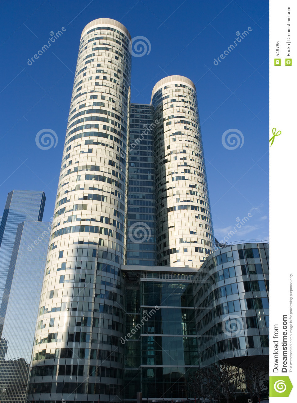 Modern Architecture Stock Image Of France French