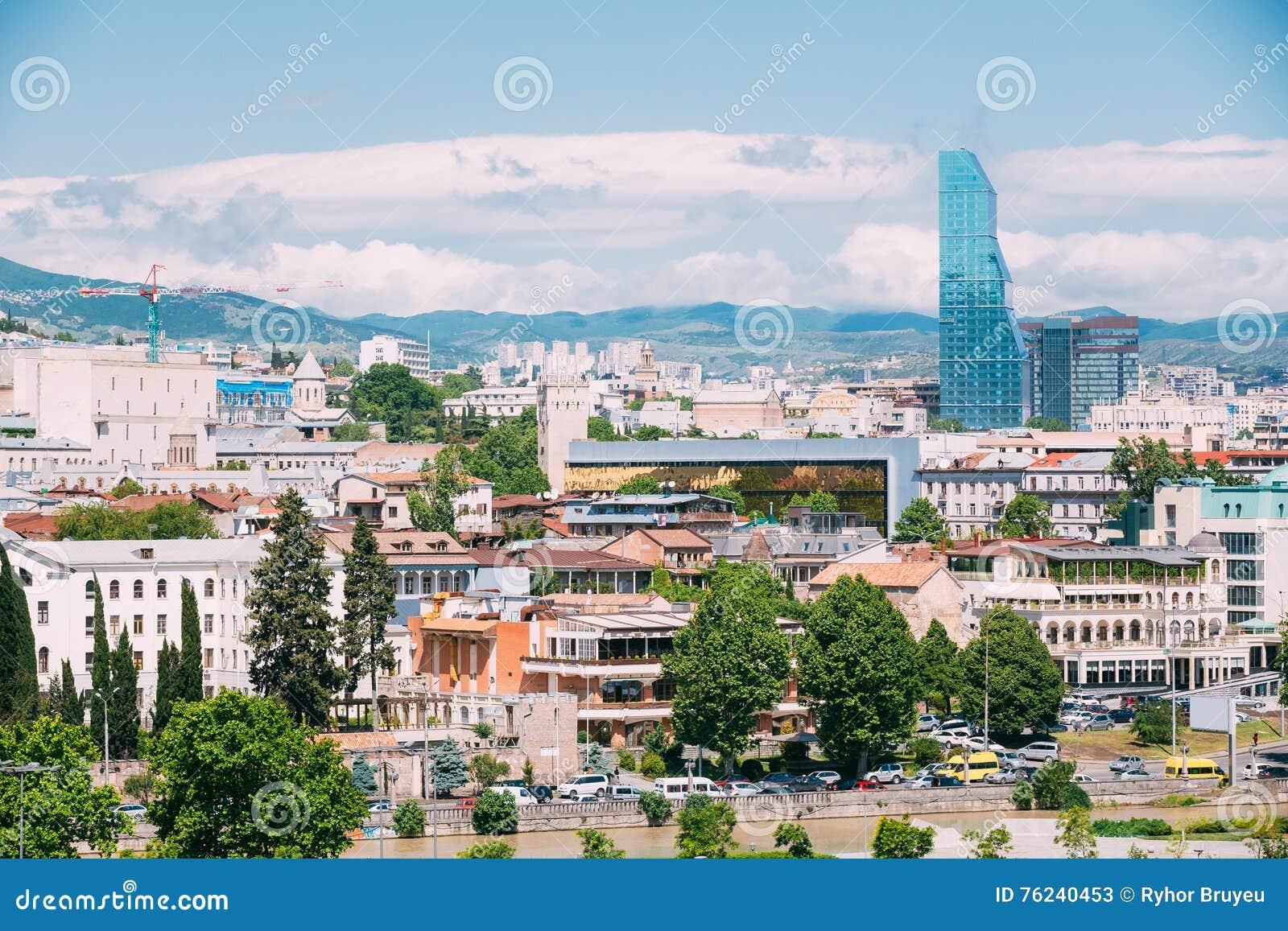 Urban plan Tbilisi Georgia PDF