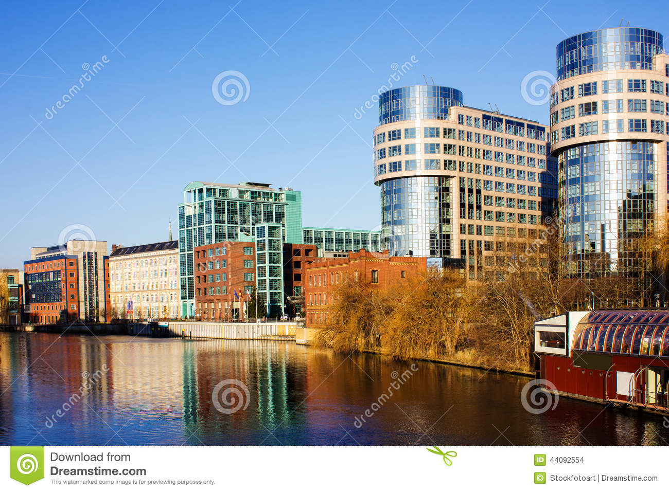 Modern architecture in berlin germany stock photo image for Interior architecture berlin