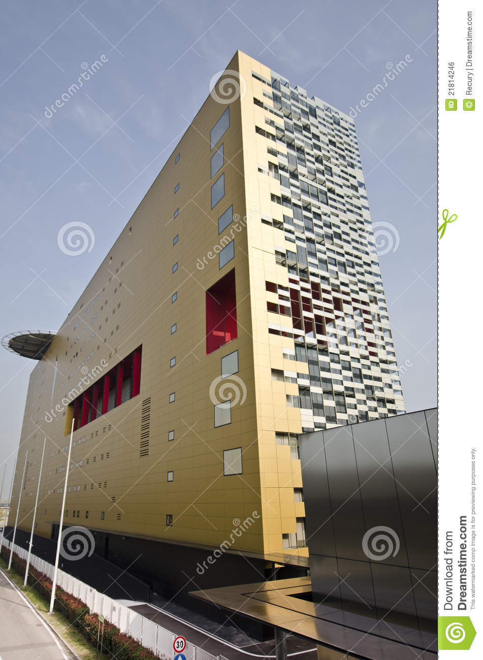 Modern Architecture Building Stock Photo Image 21814246