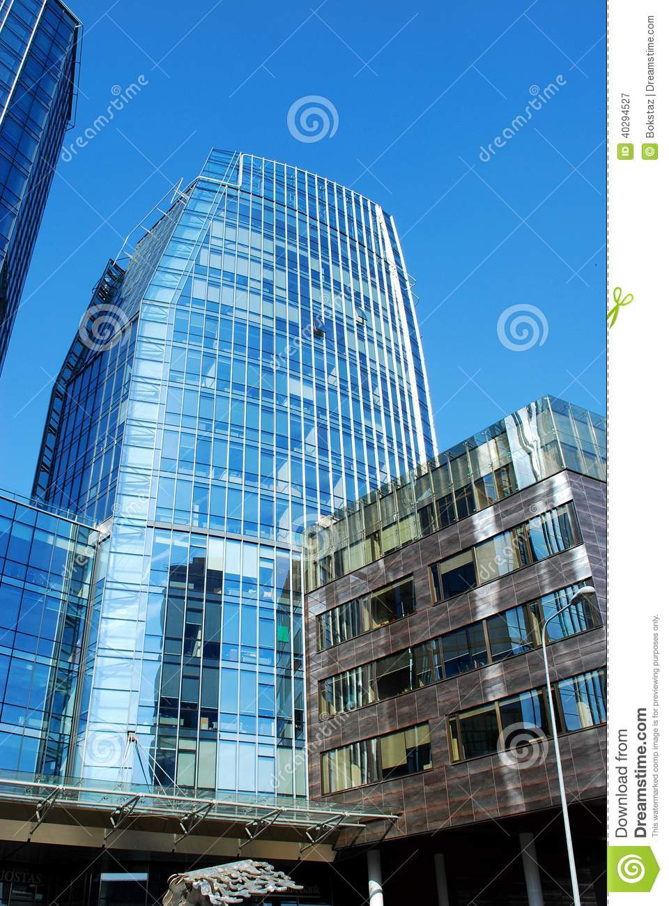 Corporate Business Building Modern Architecture Co...