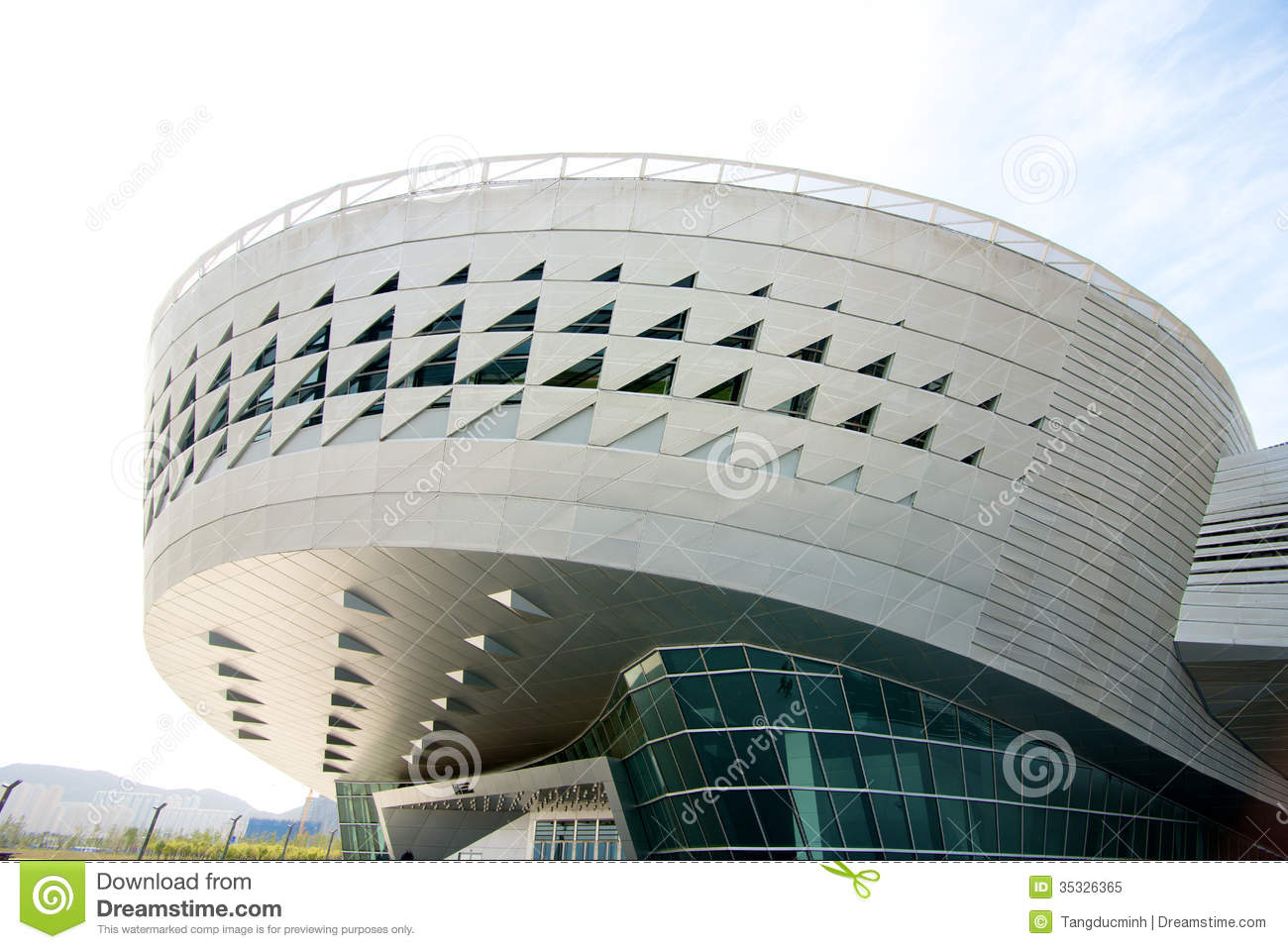 Modern Architecture In Dalian China Editorial Image Image Of
