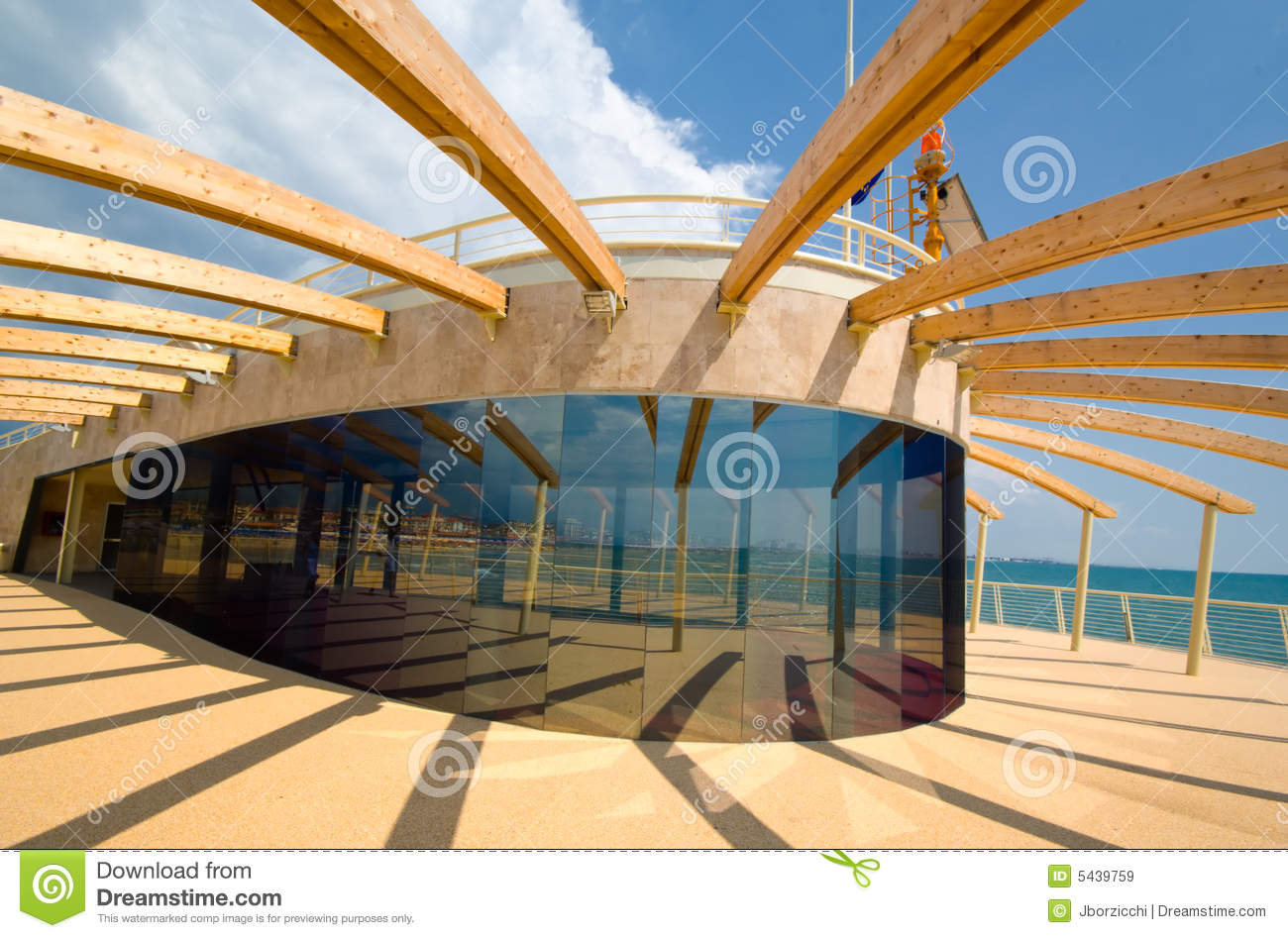 Modern Architecture Detail Royalty Free Stock Images