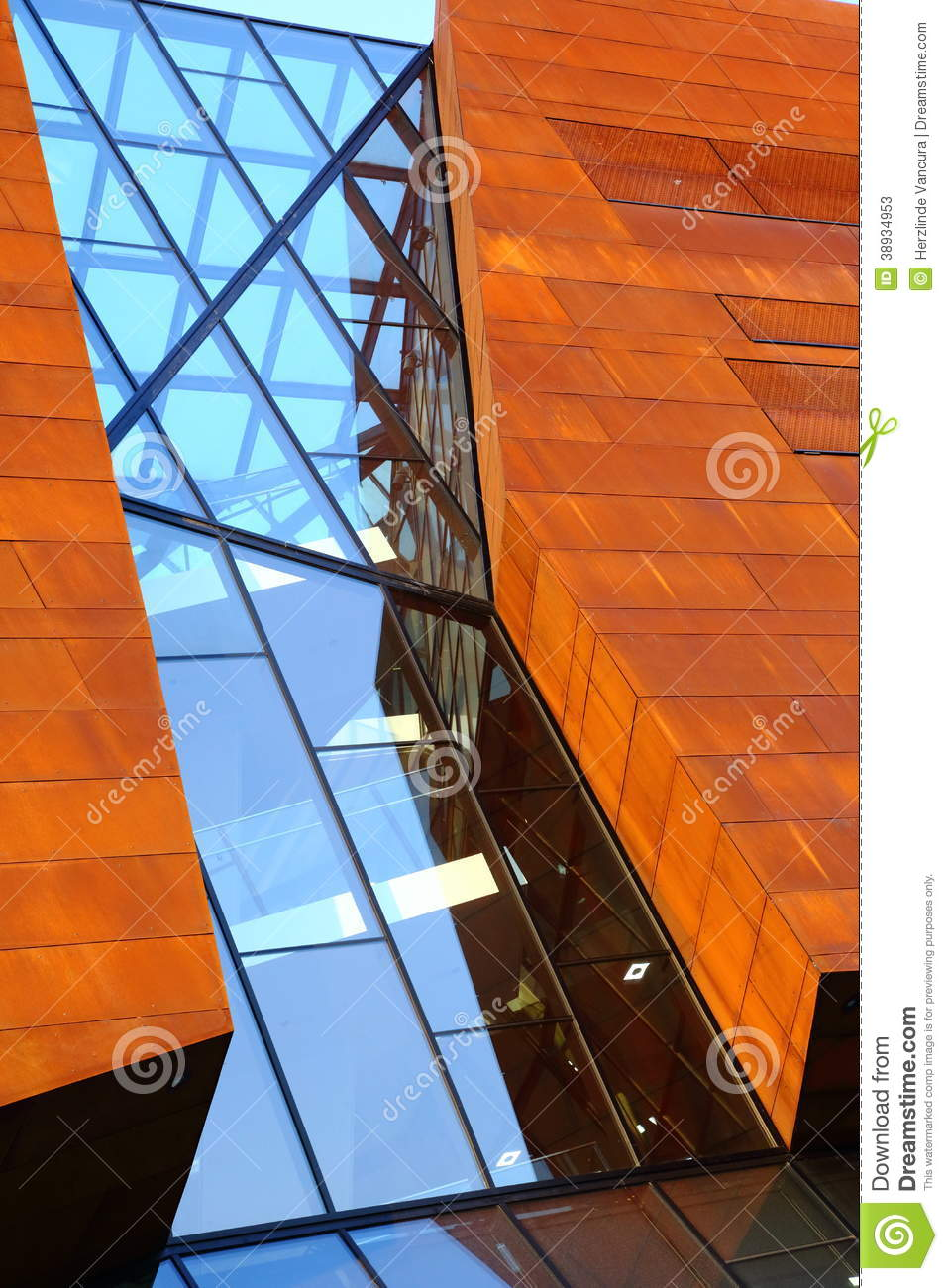 Modern Architecture Stock Image Image Of Building Wooden
