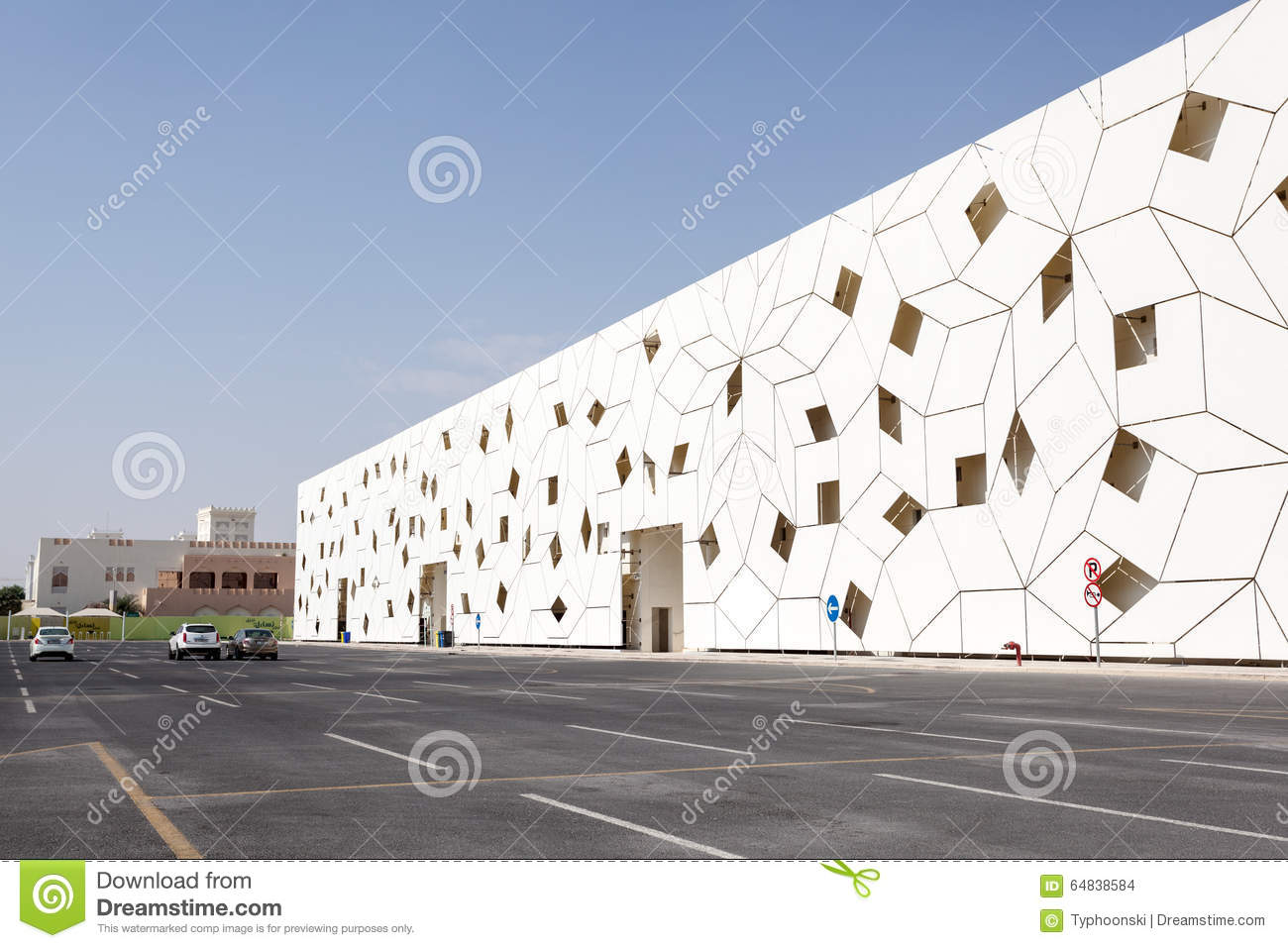 Modern architecture in doha qatar editorial stock image for Architecture qatar