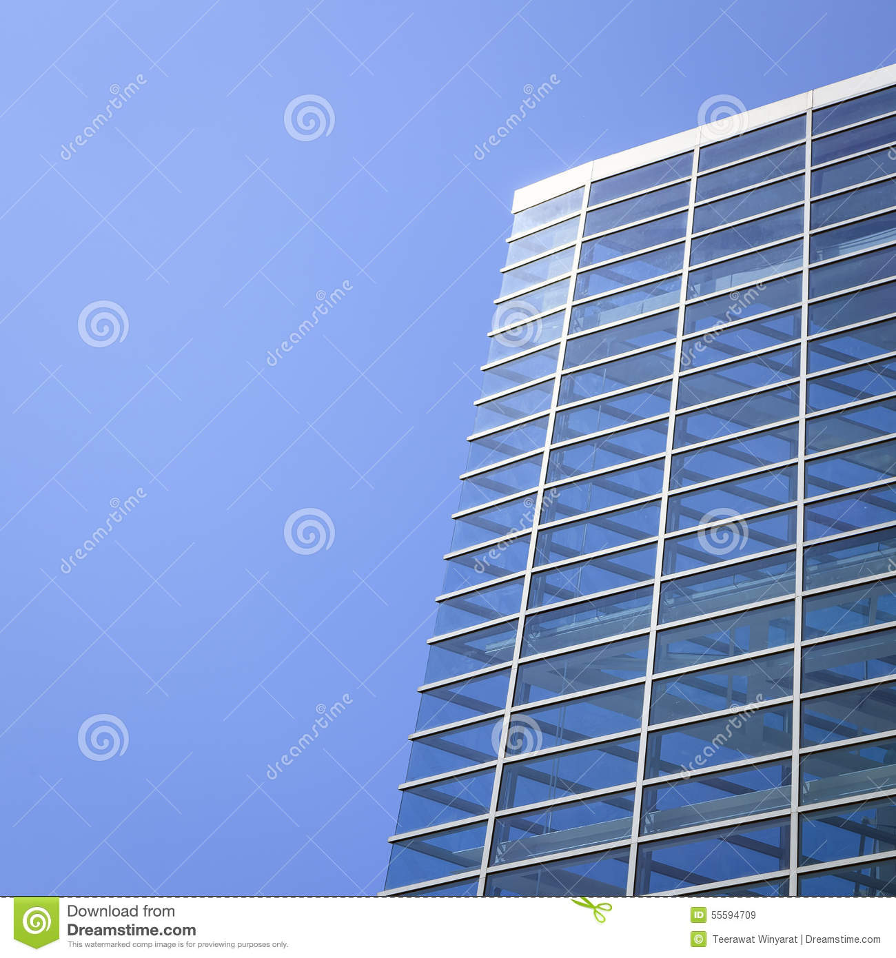 Modern Architecture Facade Details Stock Photo Image
