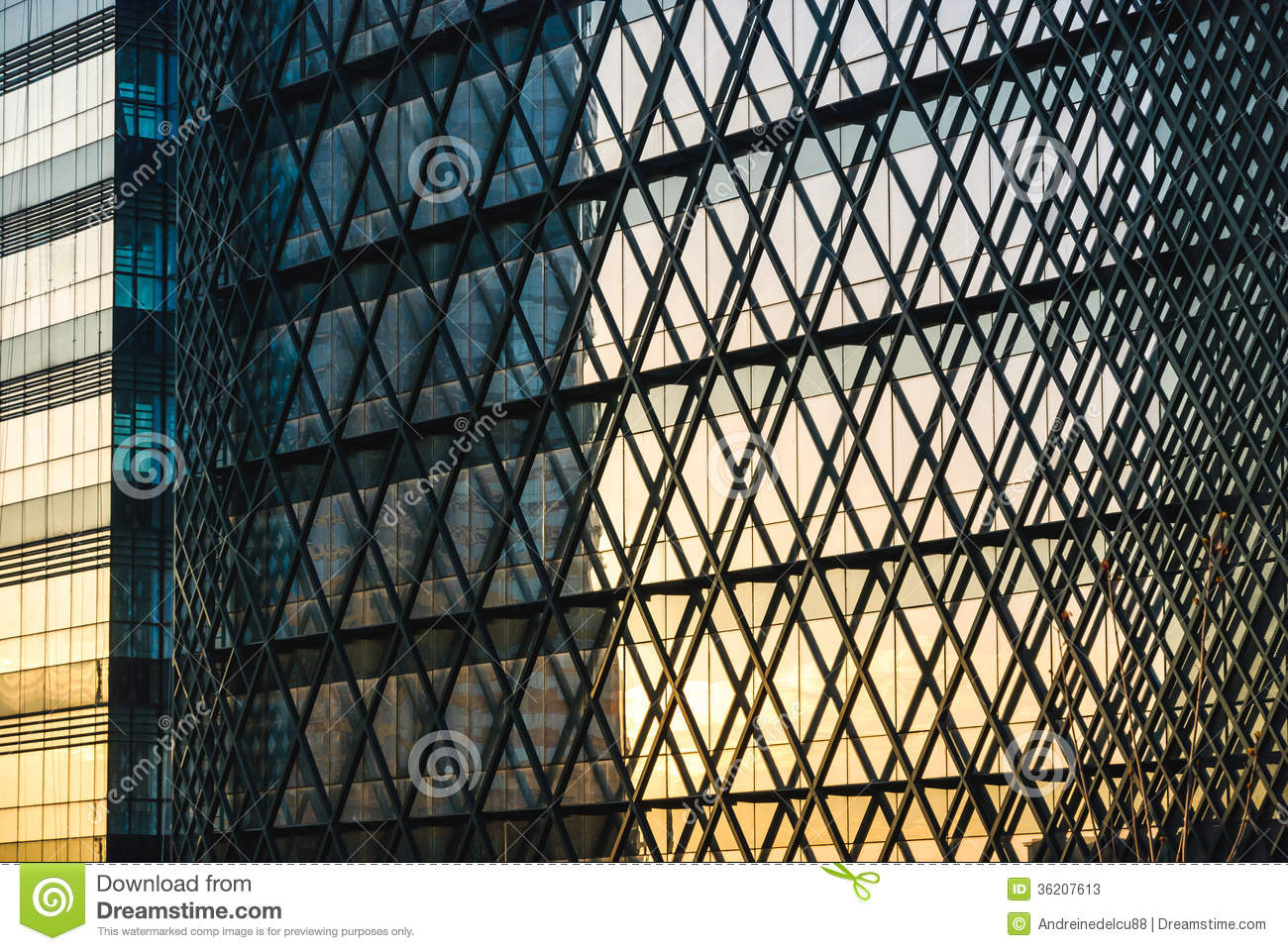 Modern Architecture Facade Royalty Free Stock Images Image