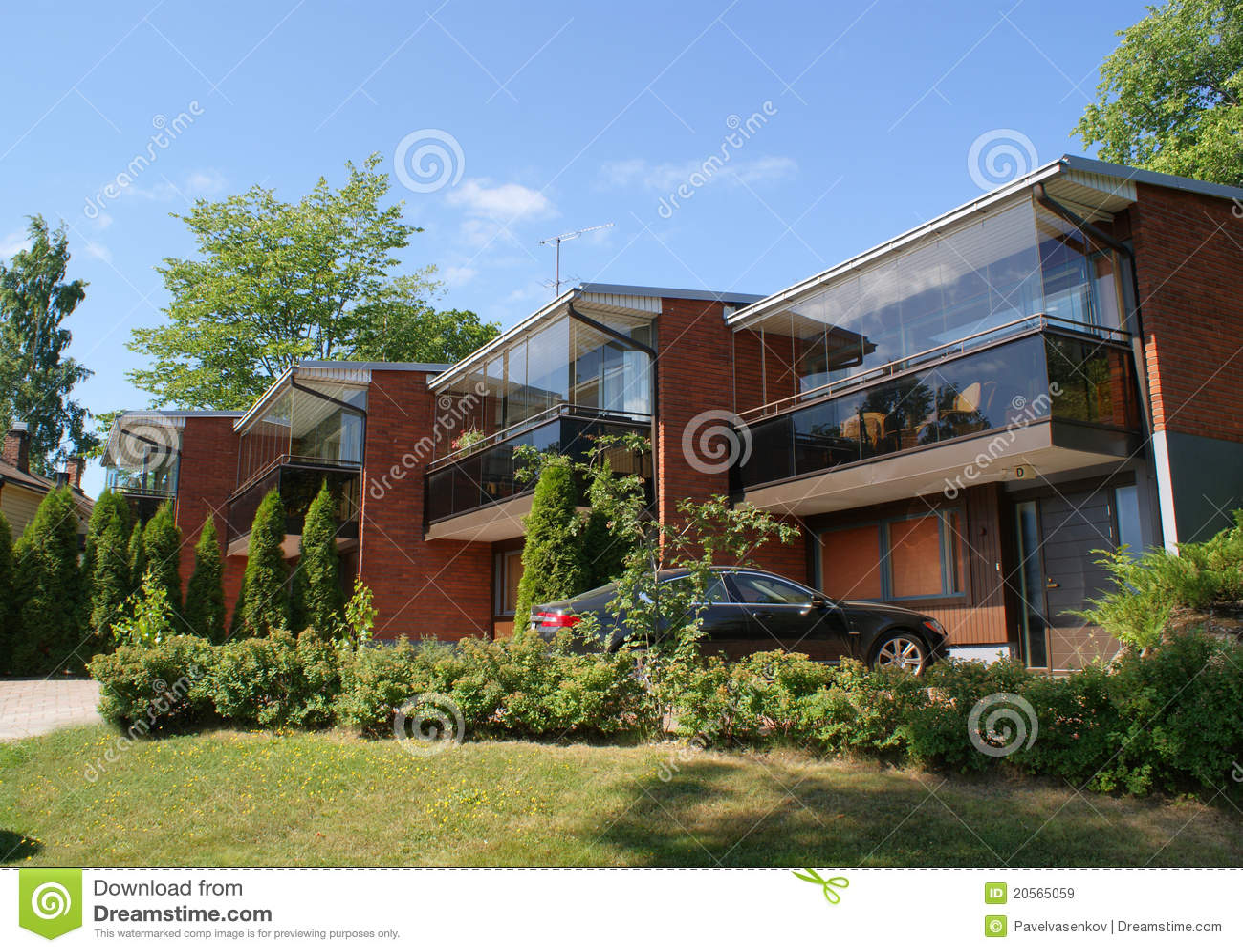 Modern Architecture Finland Stock Image Image 20565059