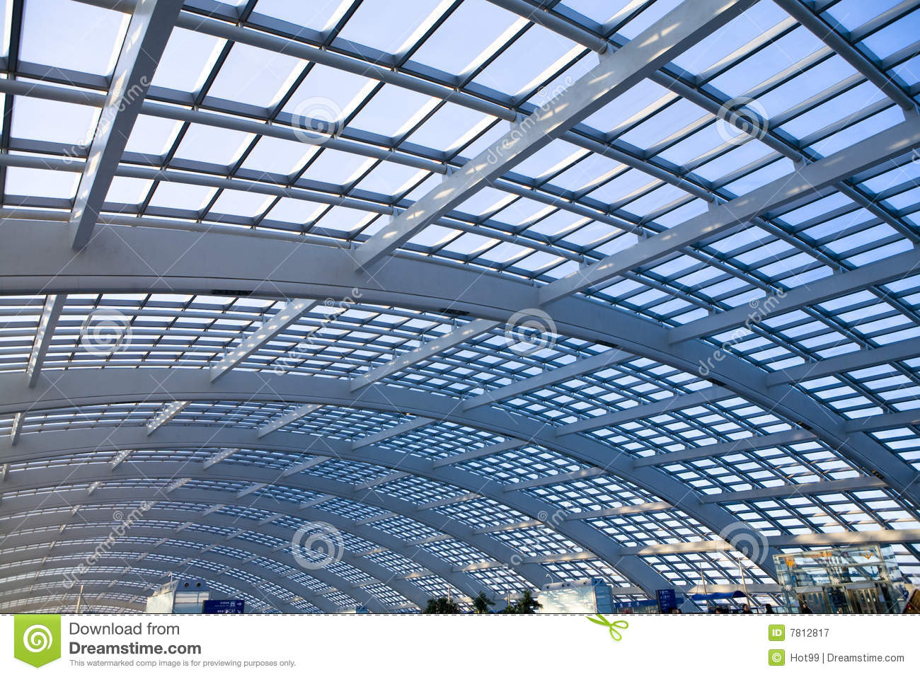 Modern Architecture Glass Dome Royalty Free Stock
