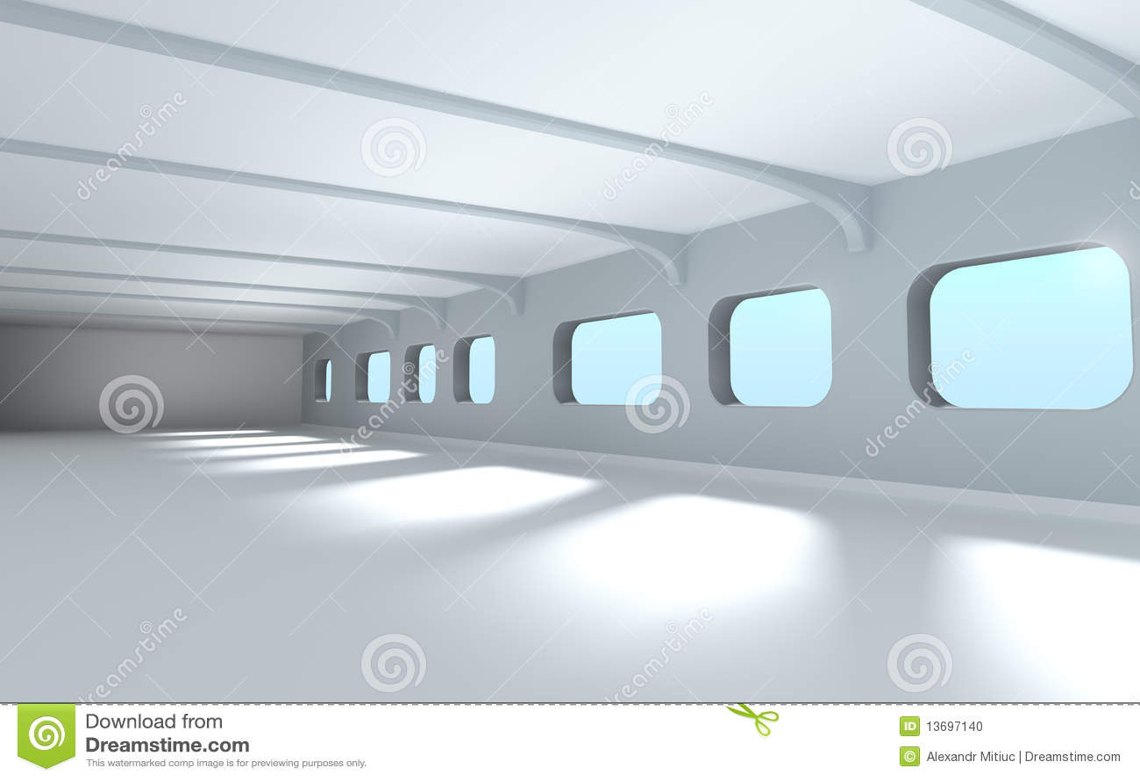 Modern Architecture Interior modern architecture interior stock photo - image: 13697140
