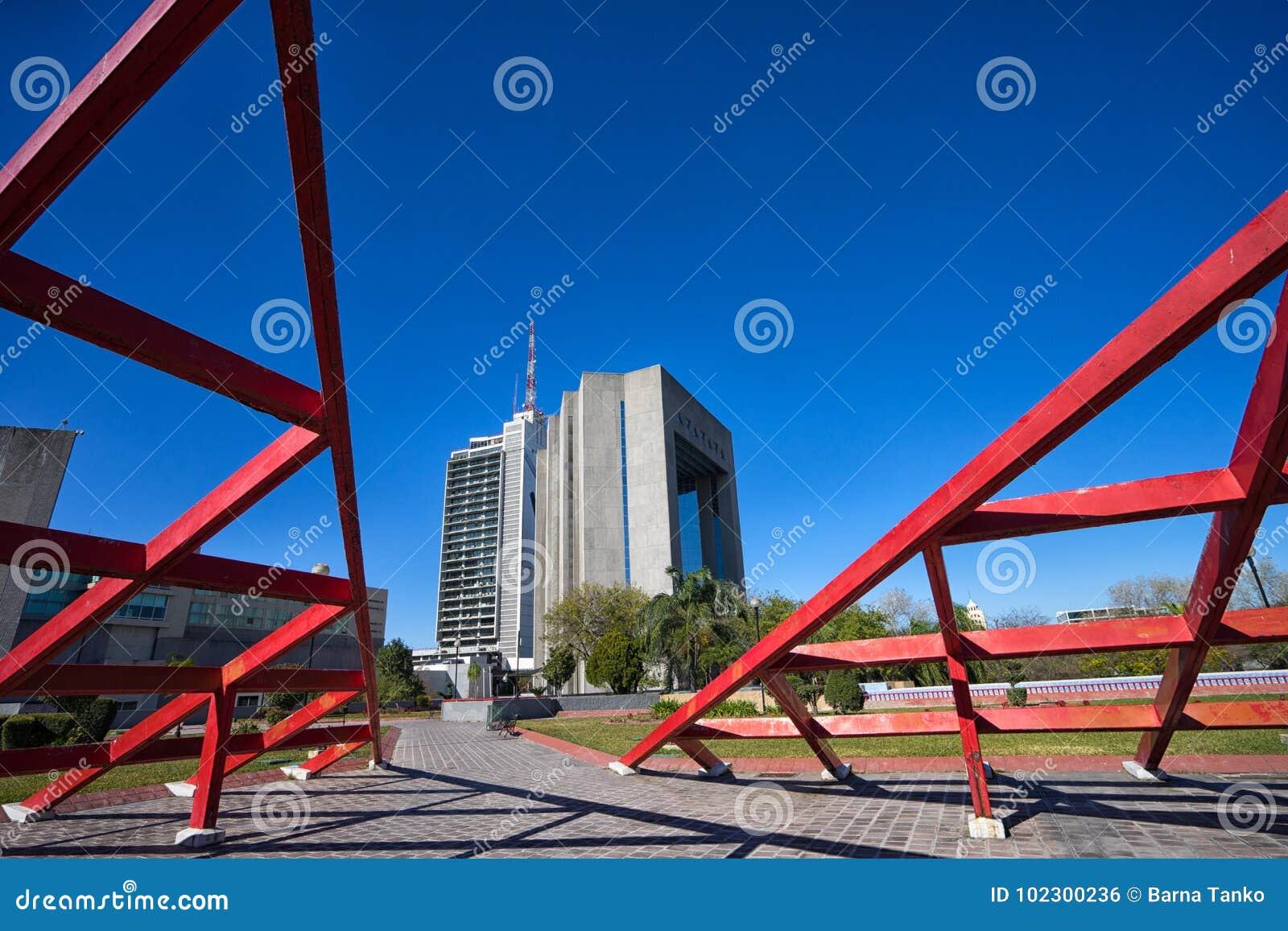 Modern architecture in Monterrey Mexico