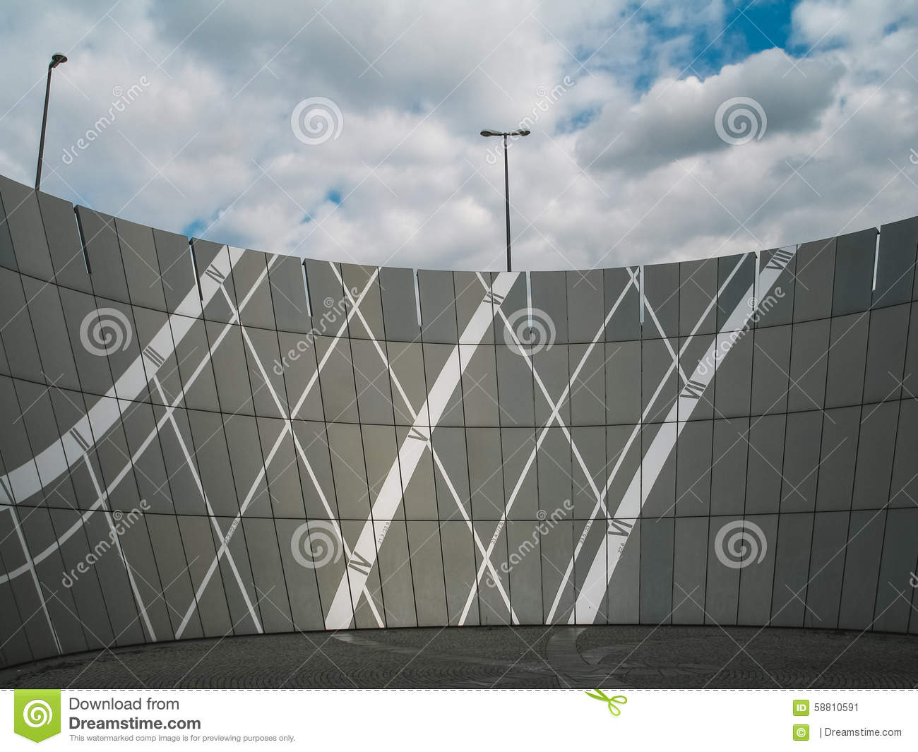 Modern Architecture Germany a modern architecture in munich stock photo - image: 58810591