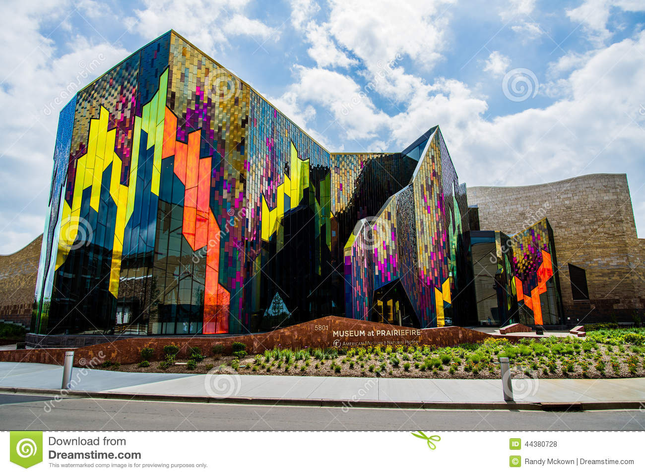 Modern Architecture Museum In Kansas City Editorial Stock Photo - Image: 44380728