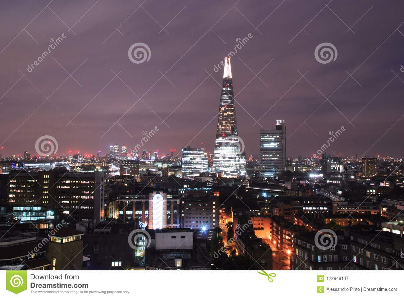 Modern Architecture In Southwark London Stock Image Image Of View